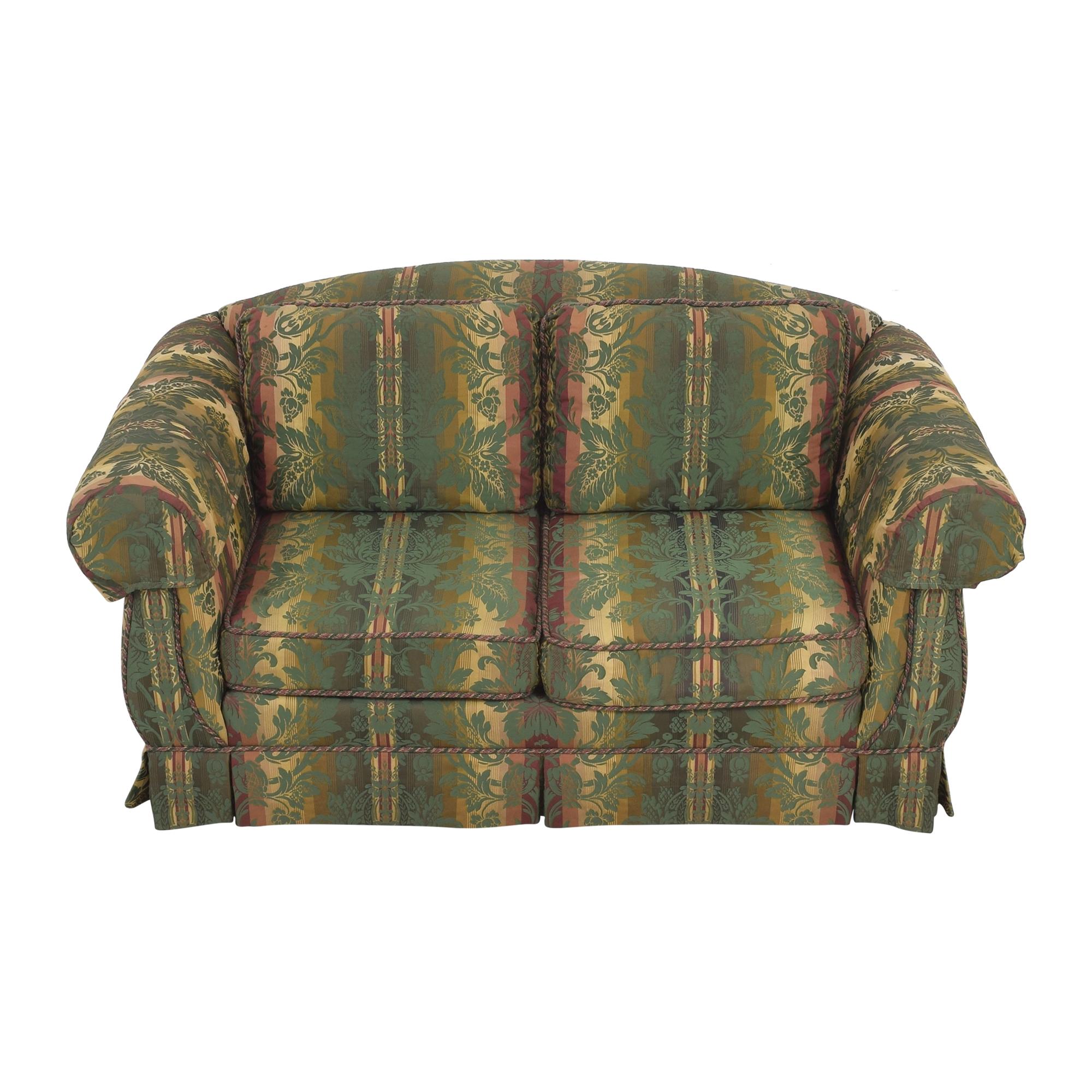 Thomasville Thomasville Patterned Two Cushion Sofa