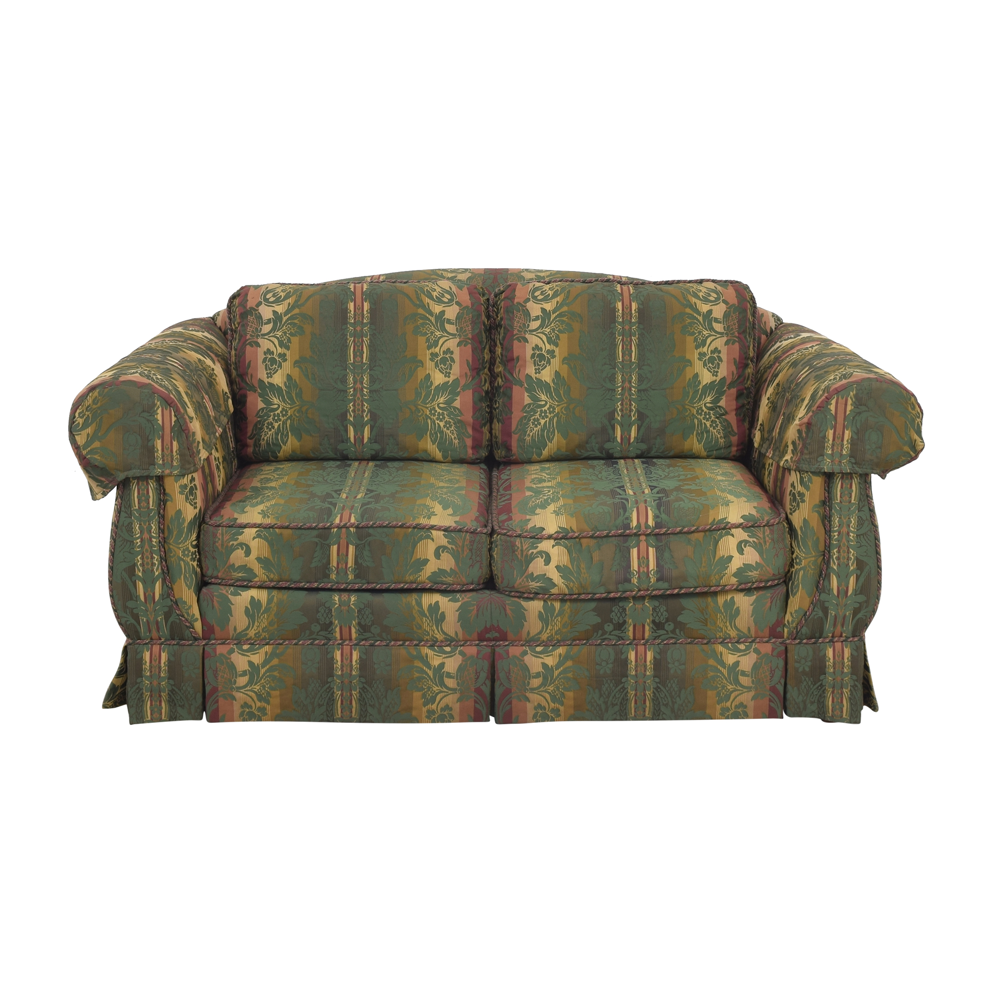 Thomasville Thomasville Patterned Two Cushion Sofa dimensions