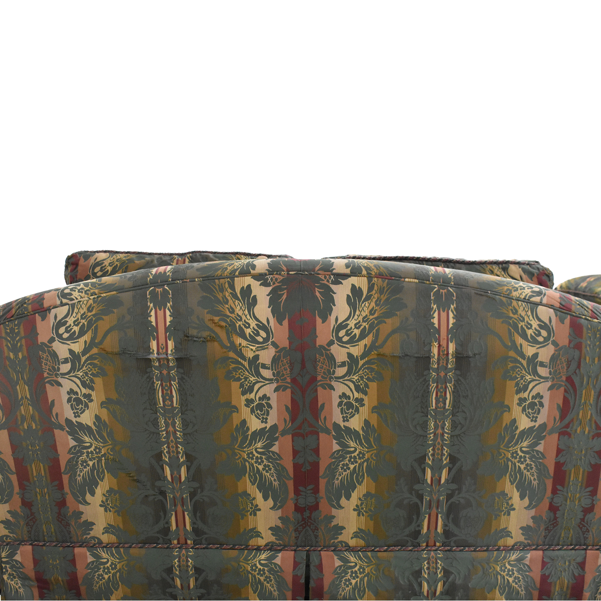 shop Thomasville Patterned Two Cushion Sofa Thomasville