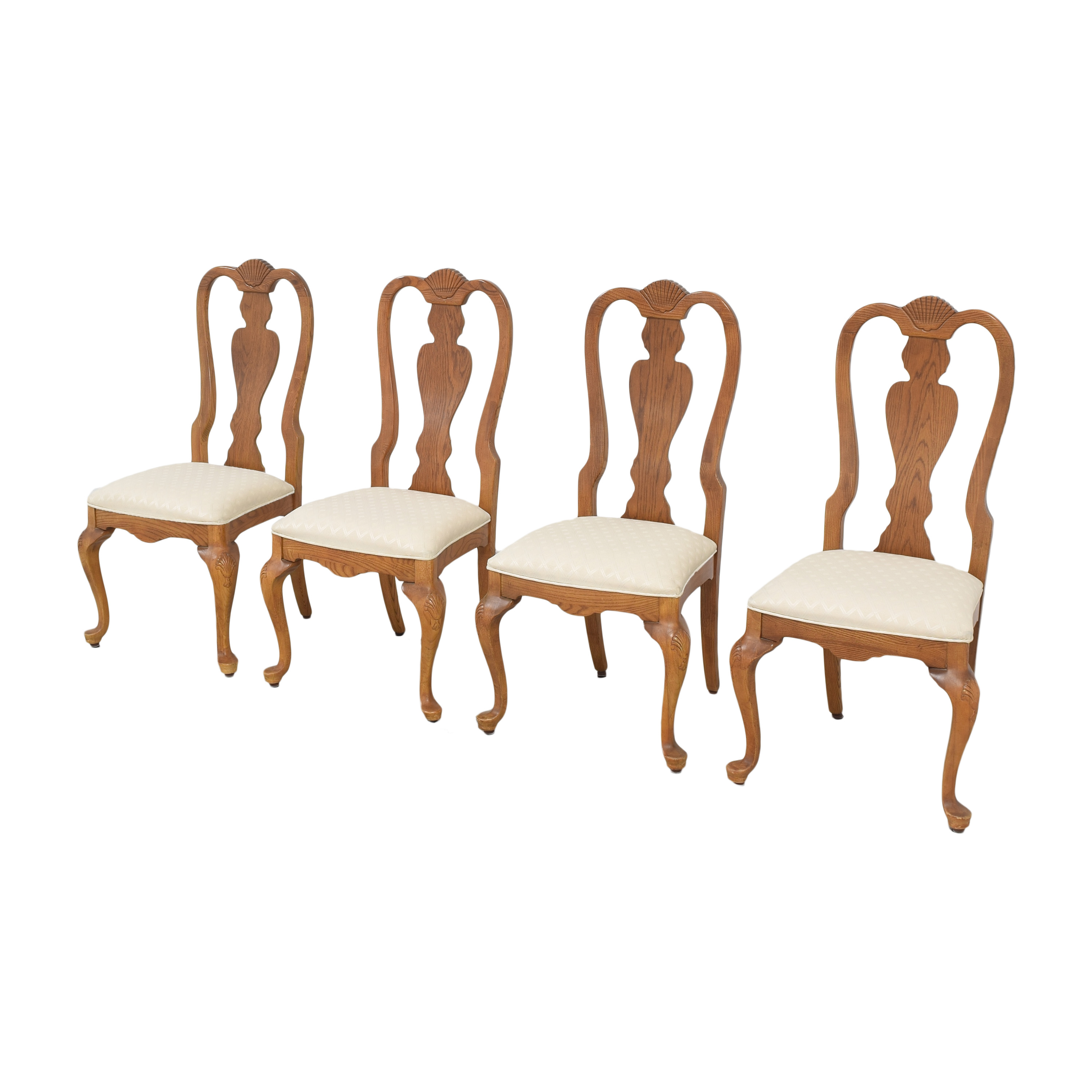 Stanley Furniture Queen Anne Dining Chairs sale
