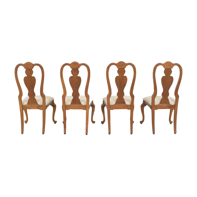 shop Stanley Furniture Queen Anne Dining Chairs Stanley Furniture Dining Chairs
