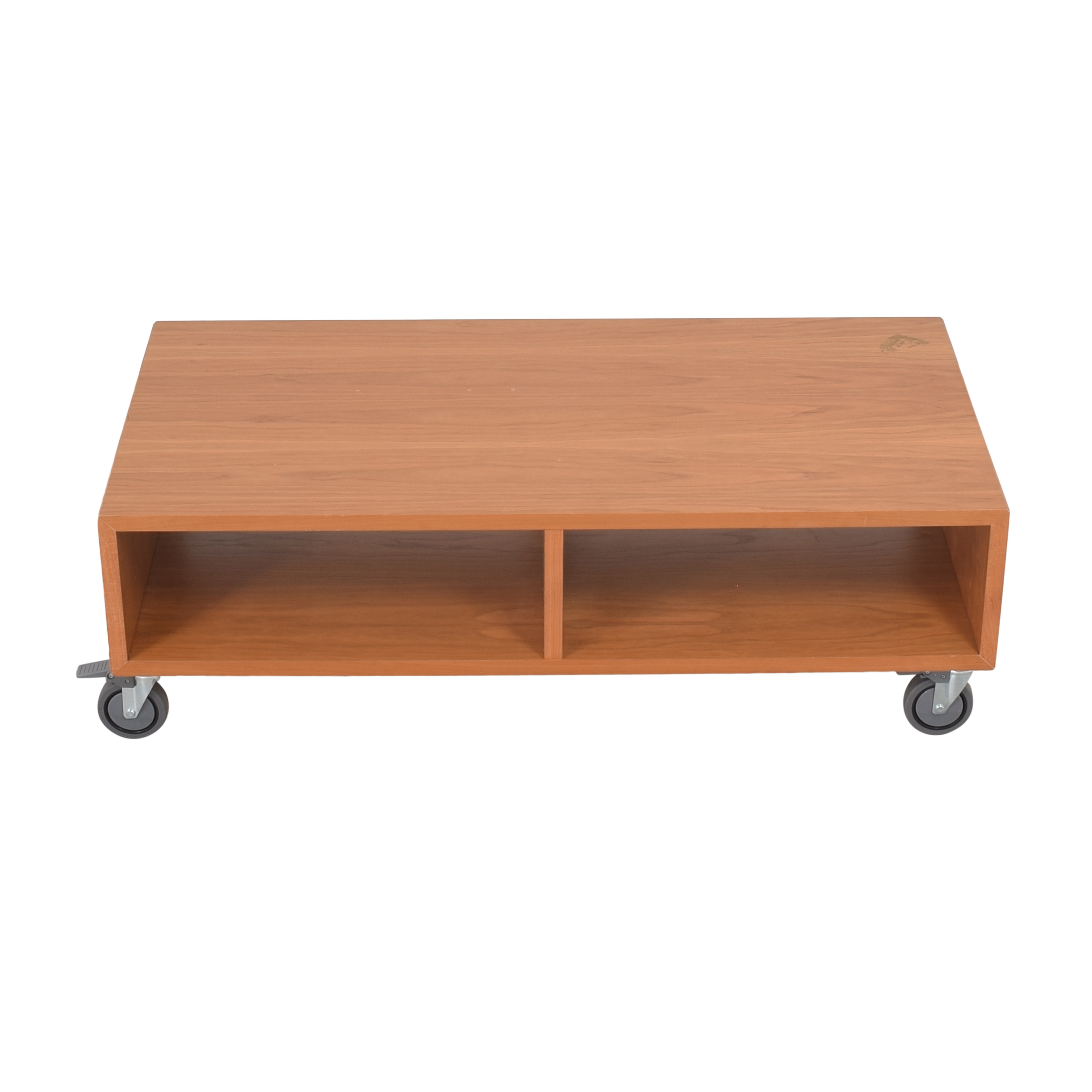buy Room & Board Cocktail Table on Casters Room & Board Tables