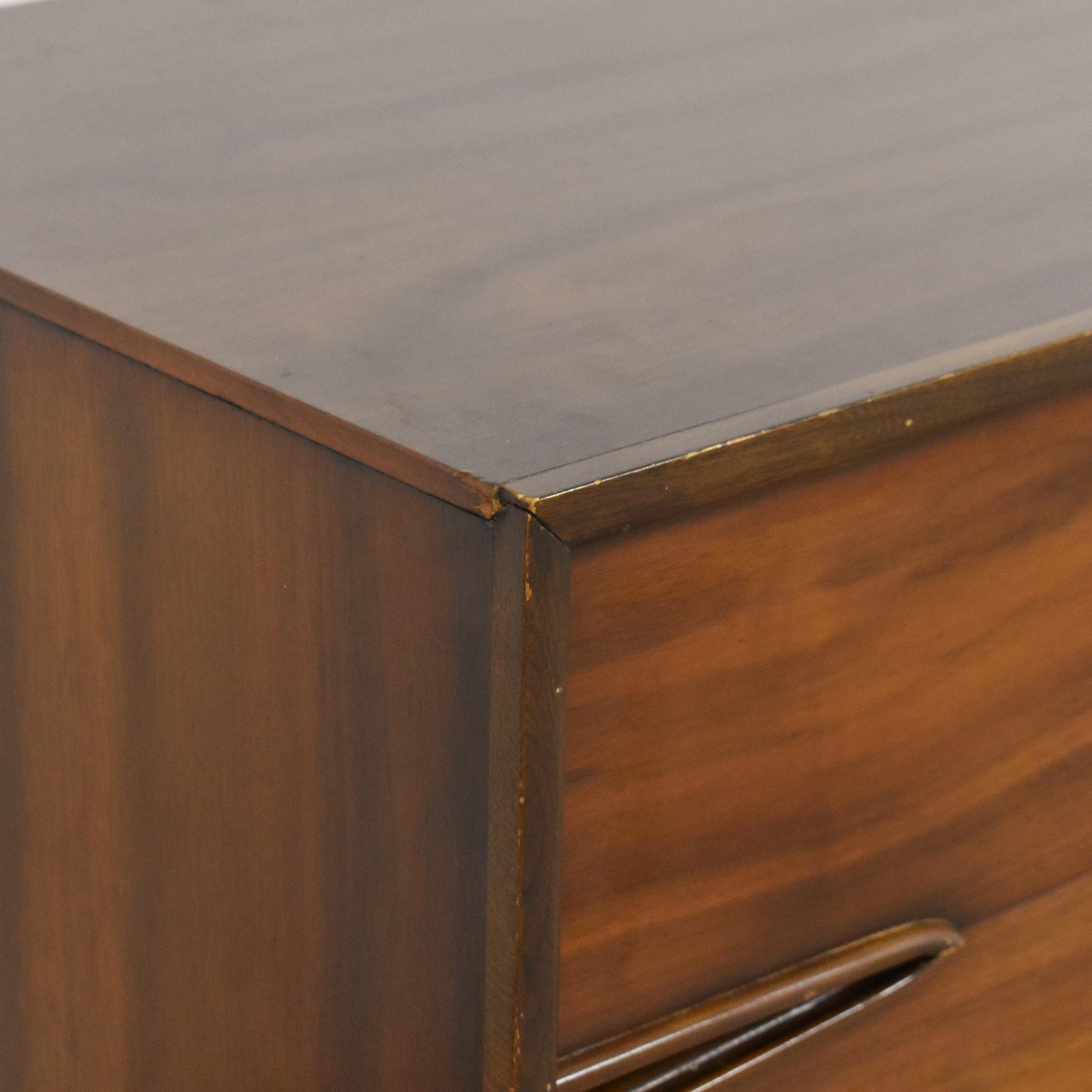 Unagusta Finesse Mid Century Modern Triple Dresser sale