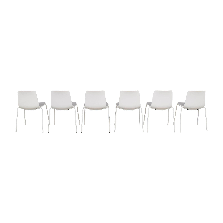 Coalesse Coalesse Enea Lottus Side Chairs dimensions