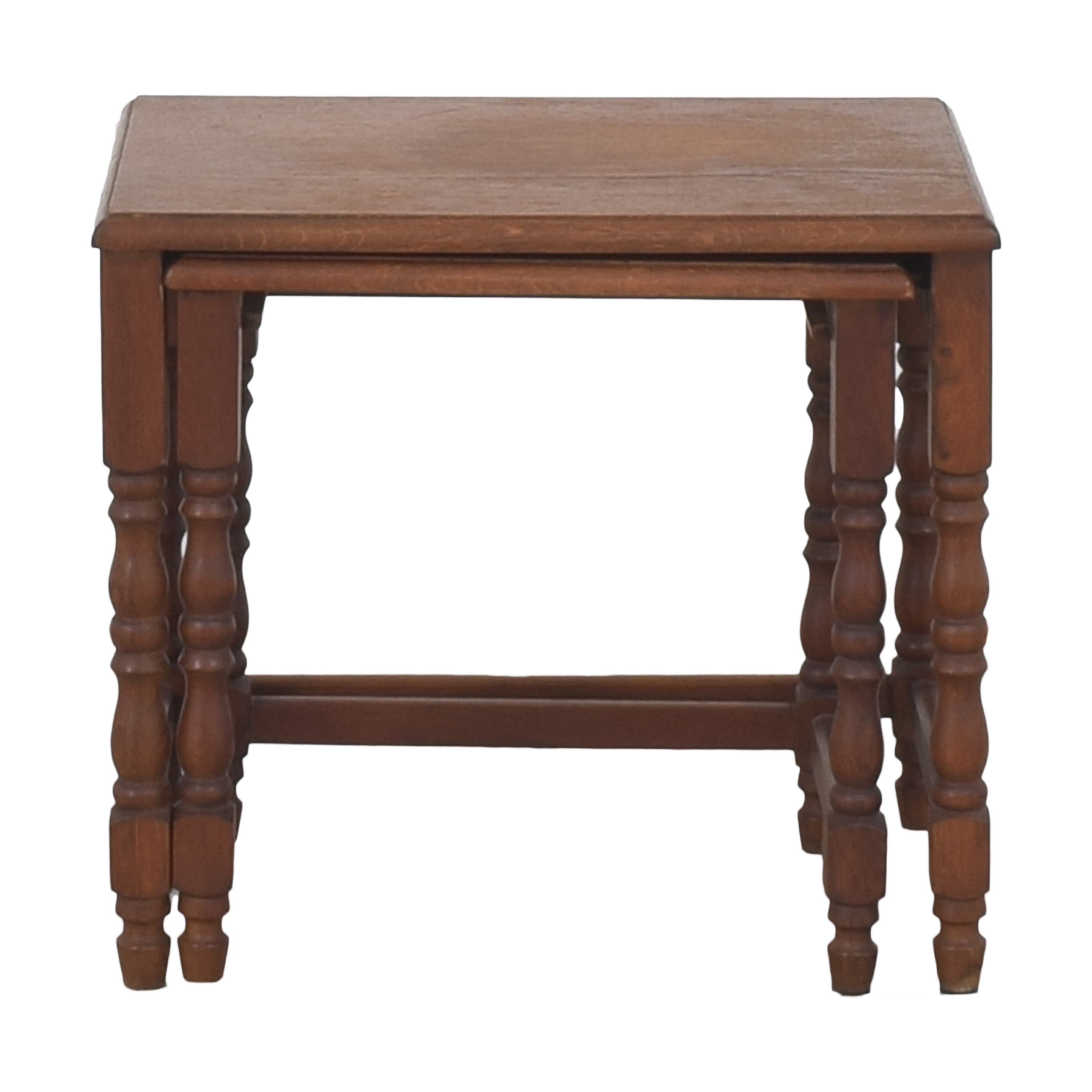 Antique Nesting End Tables ma