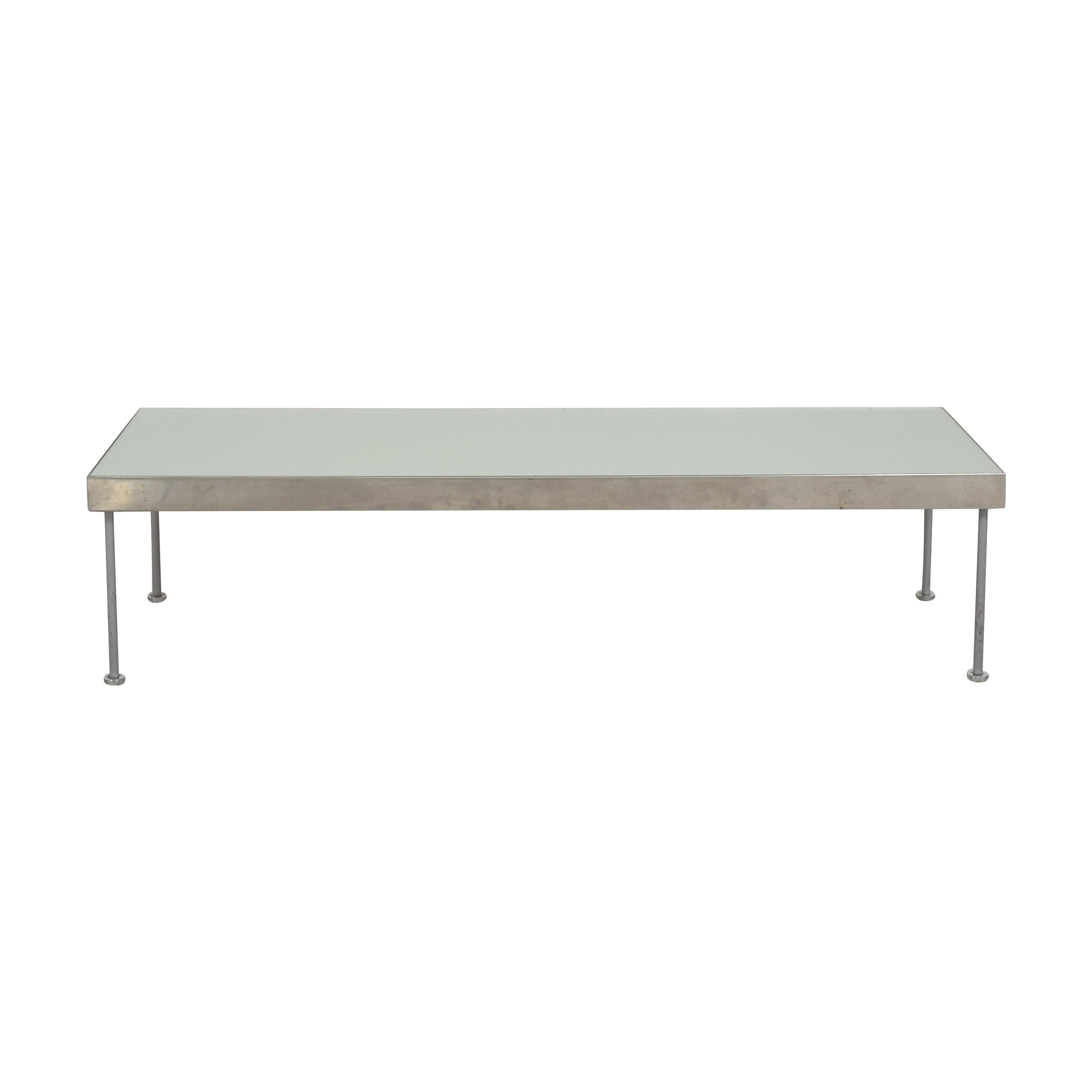 Rectangular Coffee Table with Frosted Surface nyc