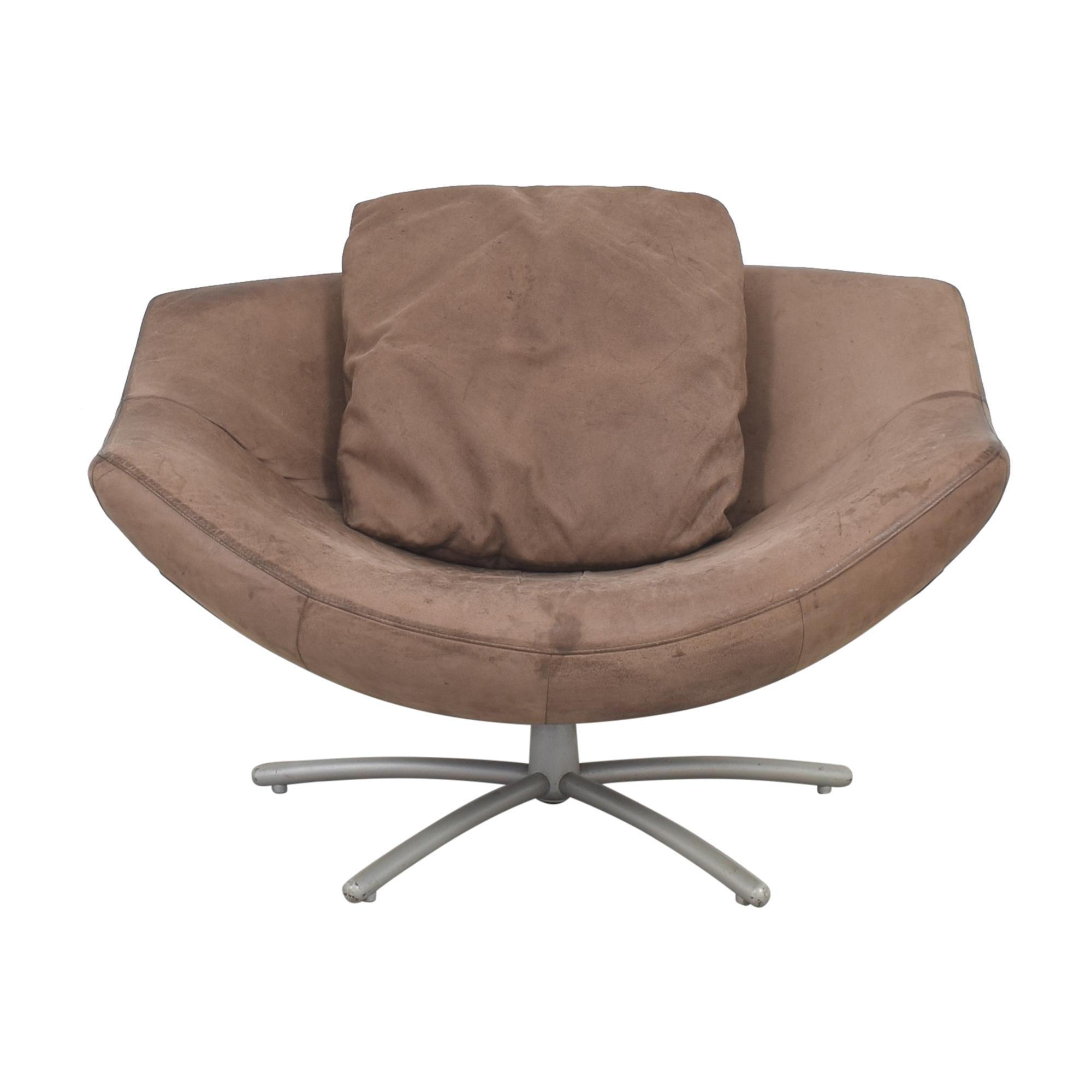 buy Label Vandenberg Gigi Swivel Chair by Gerard Van Den Berg Label Vandenberg Accent Chairs