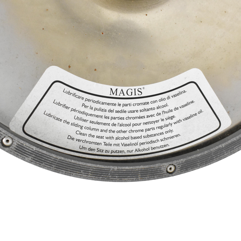Magis Magis Bombo Swivel Stools dark gray and silver