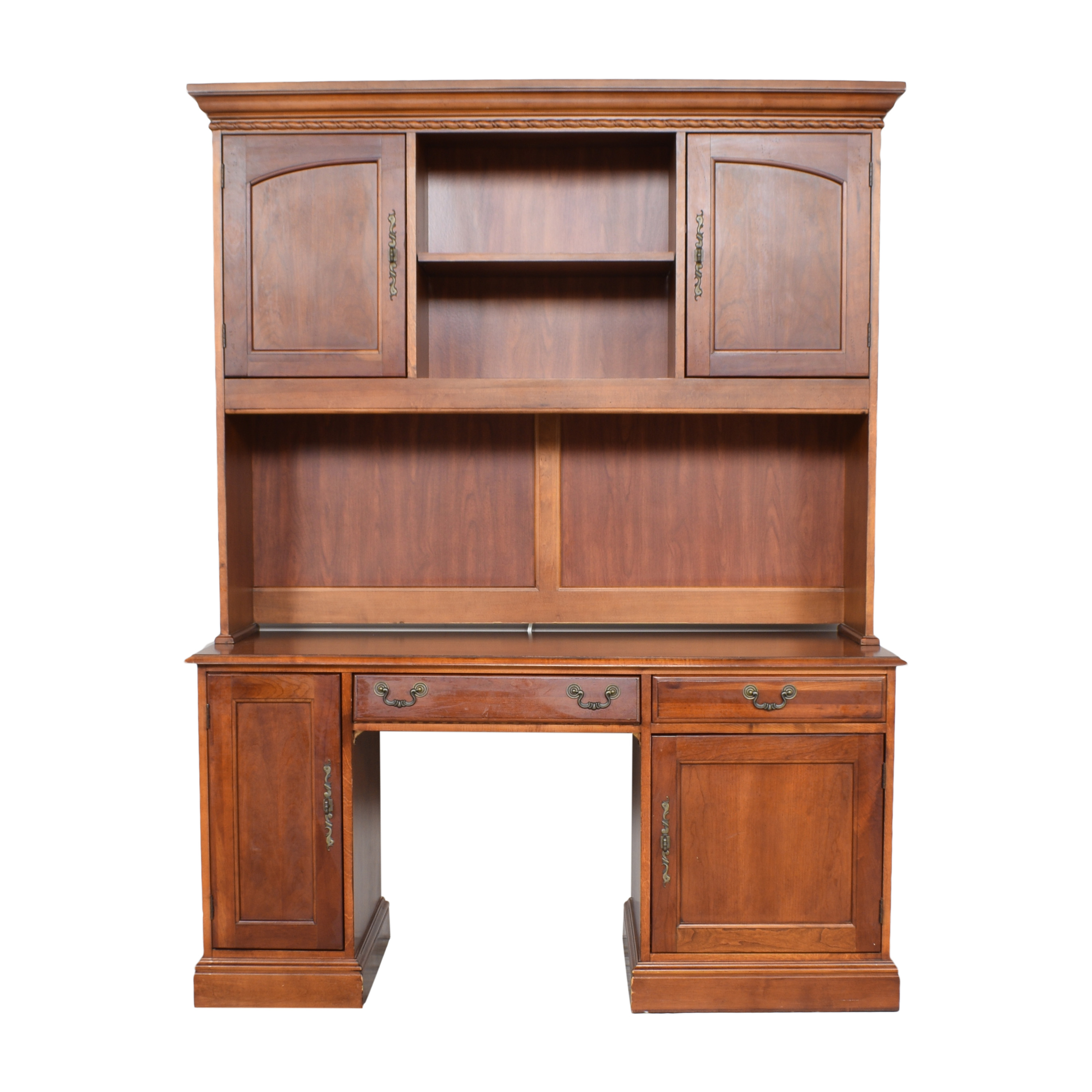 Hooker Furniture Hooker Furniture Computer Credenza Hutch Desk Tables