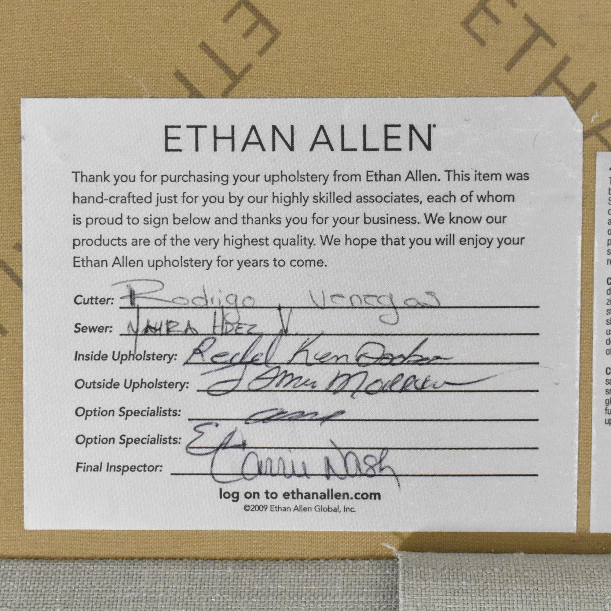 shop Ethan Allen Shelton Grand Sofa Ethan Allen Sofas