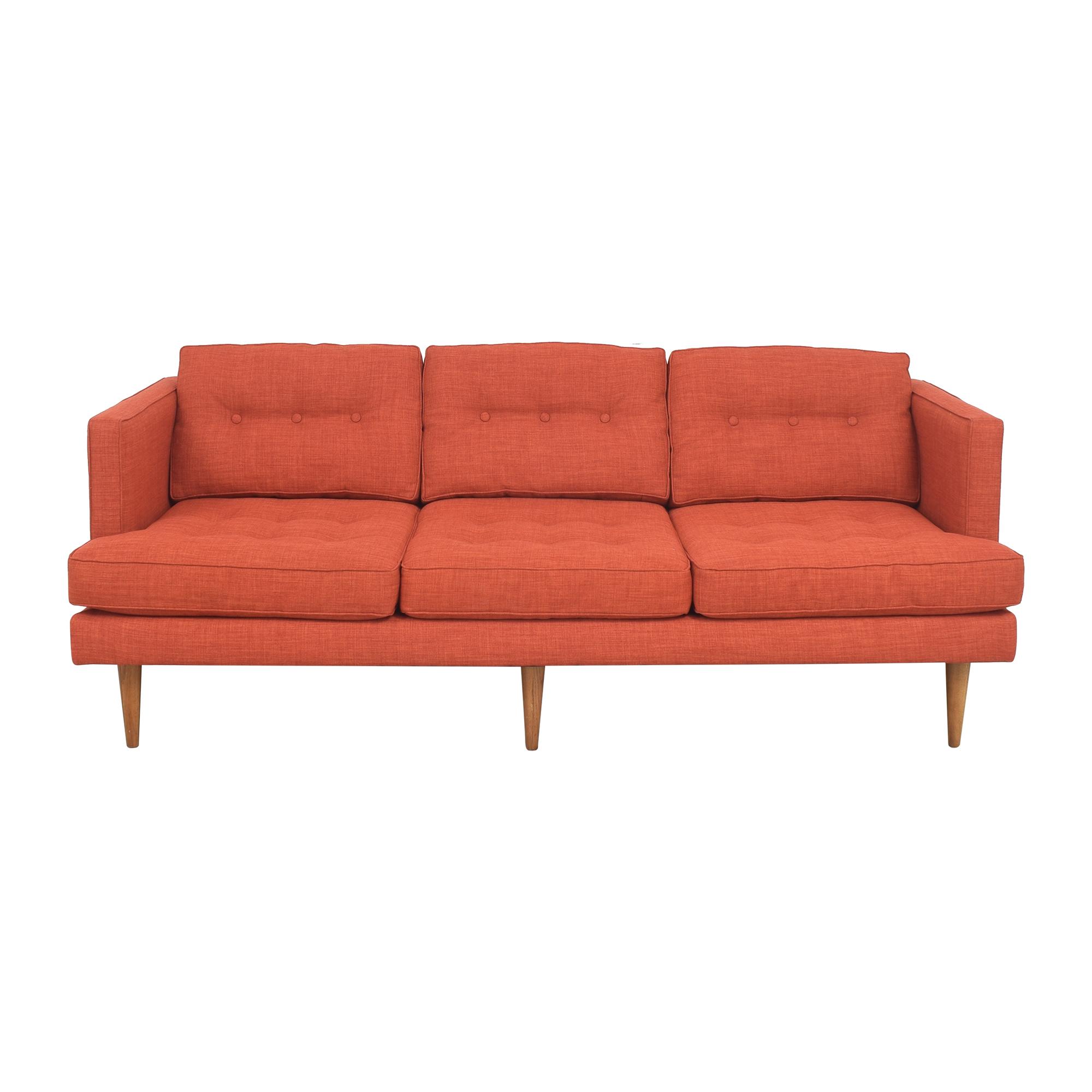 West Elm West Elm Burrow Nomad Three Cushion Sofa second hand