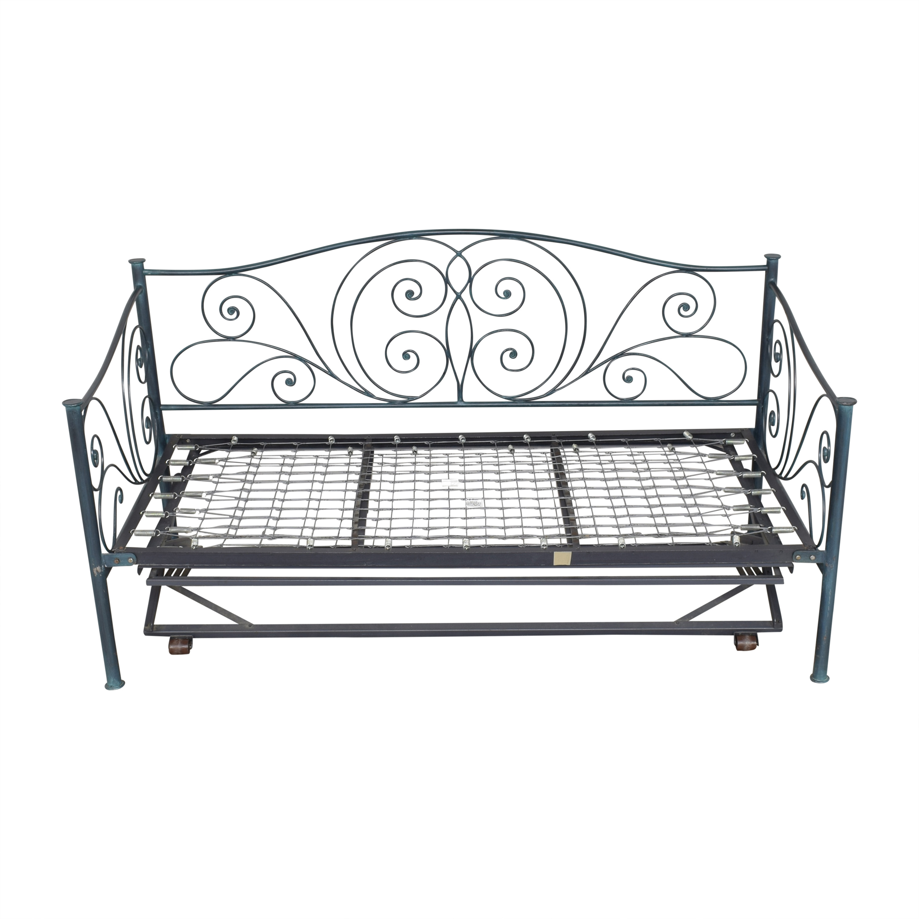 Charles P. Rogers Charles P. Rogers Openwork Twin Daybed with Trundle