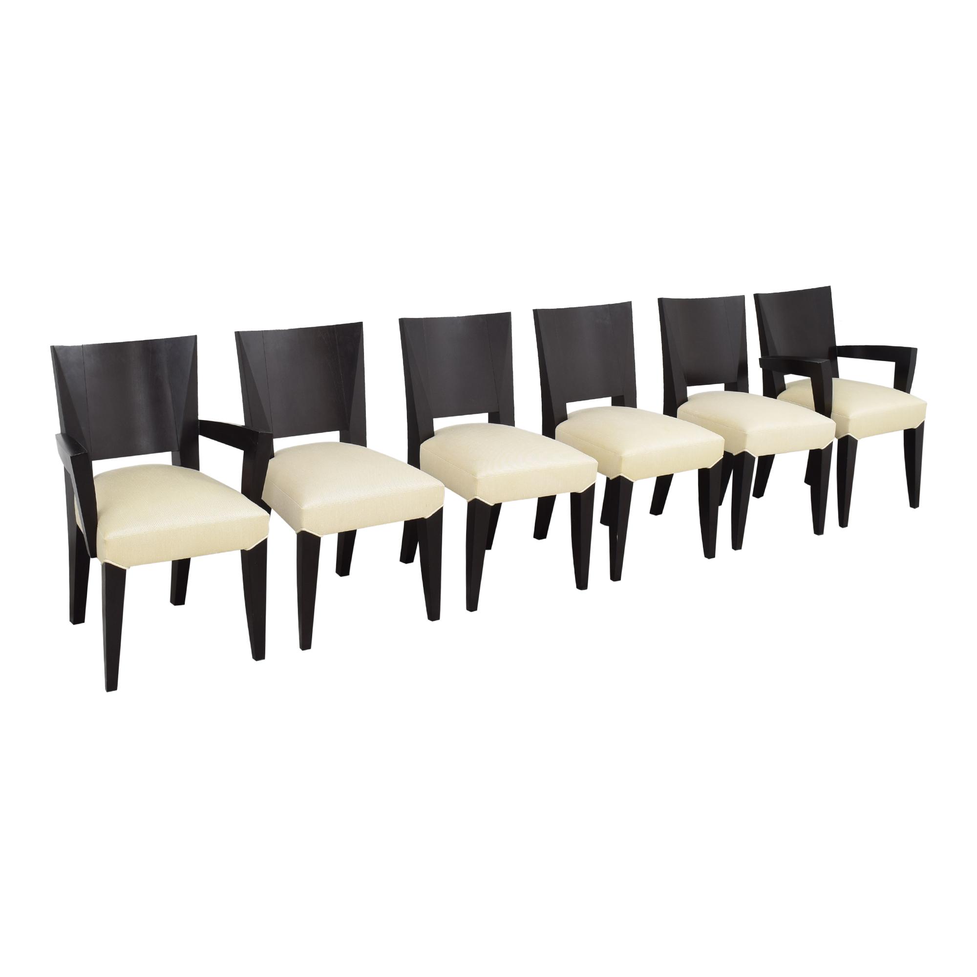 Dakota Jackson Dakota Jackson Ocean Dining Chairs on sale