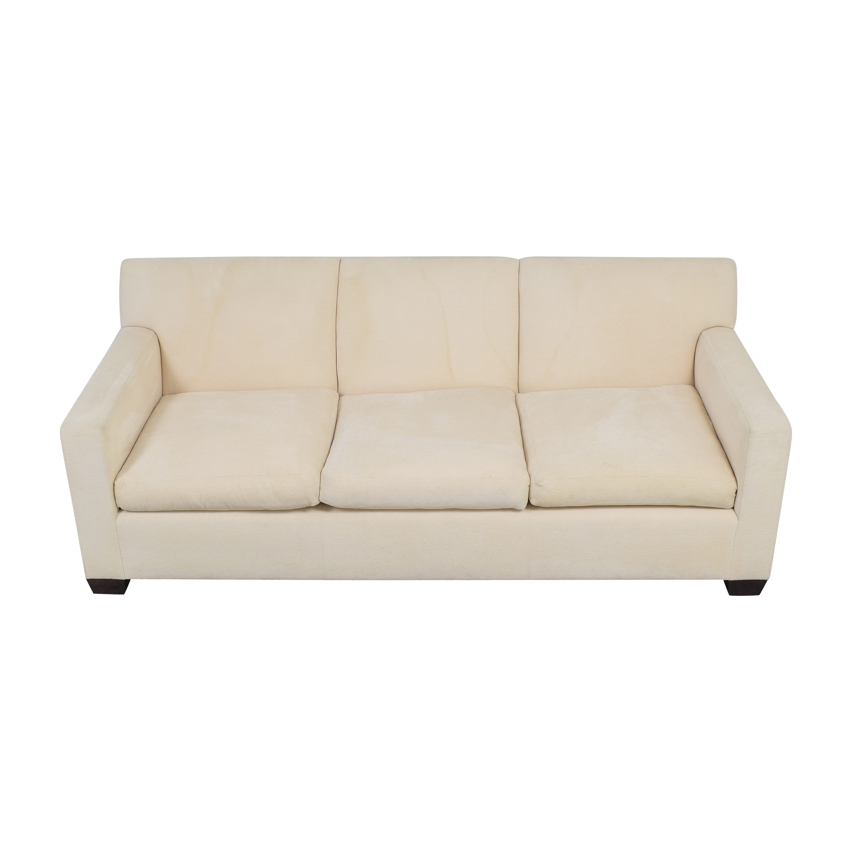shop Custom Three Cushion Sofa