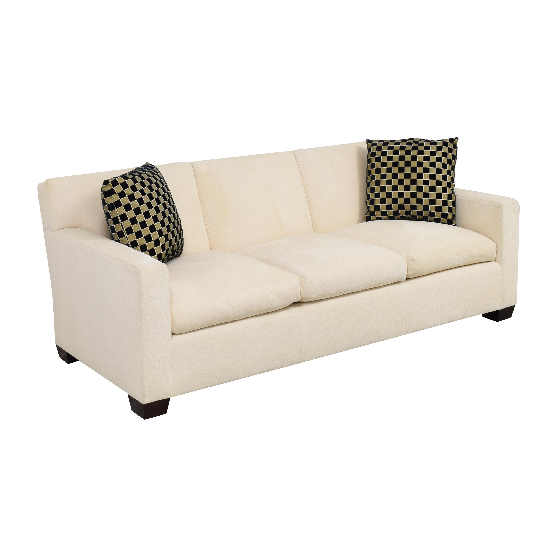 Custom Three Cushion Sofa / Classic Sofas