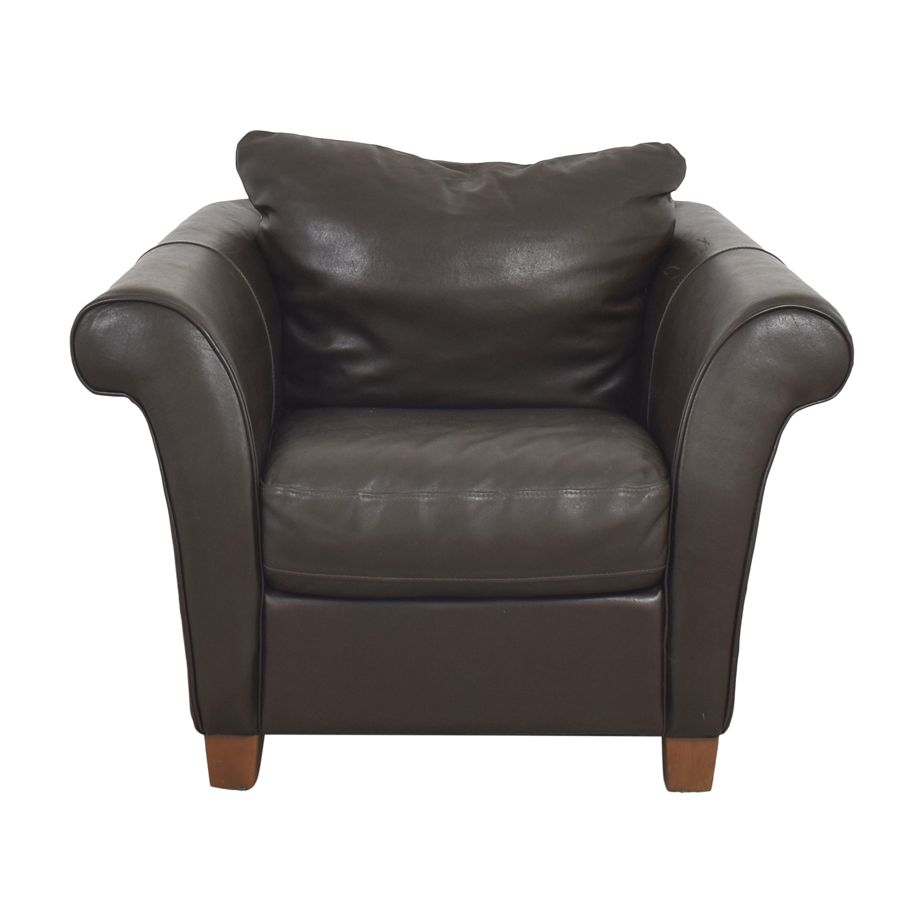 shop Macy's Macy's Lounge Chair with Ottoman online