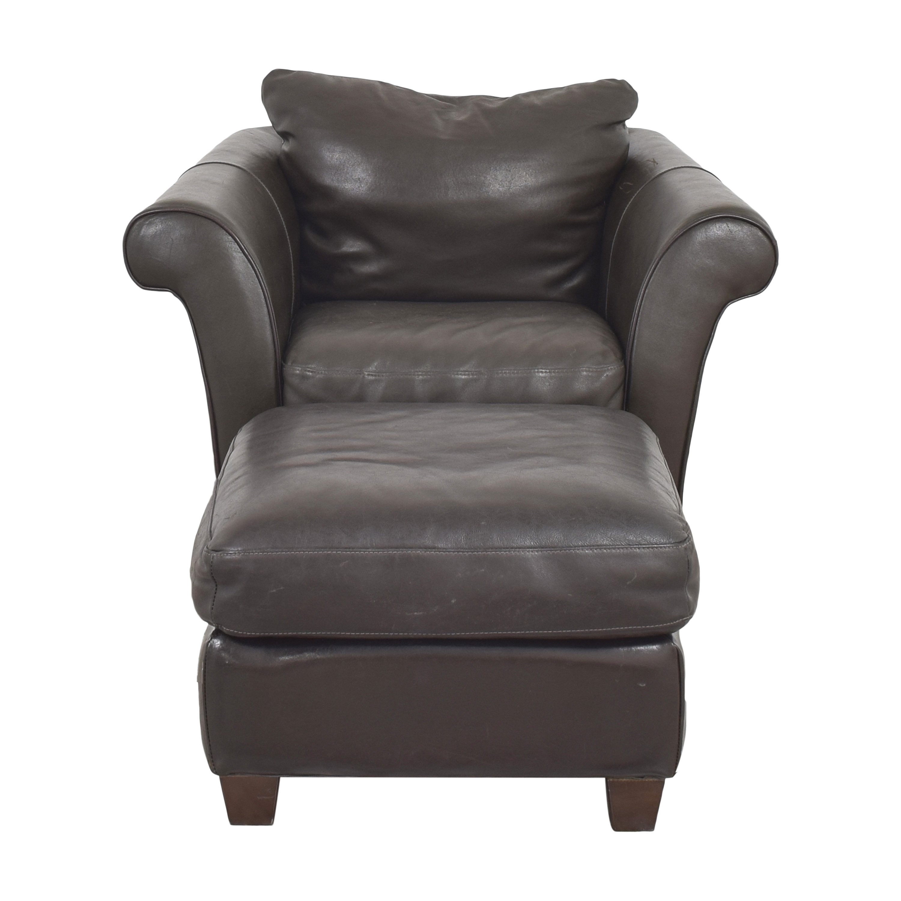 Macy's Macy's Lounge Chair with Ottoman dimensions
