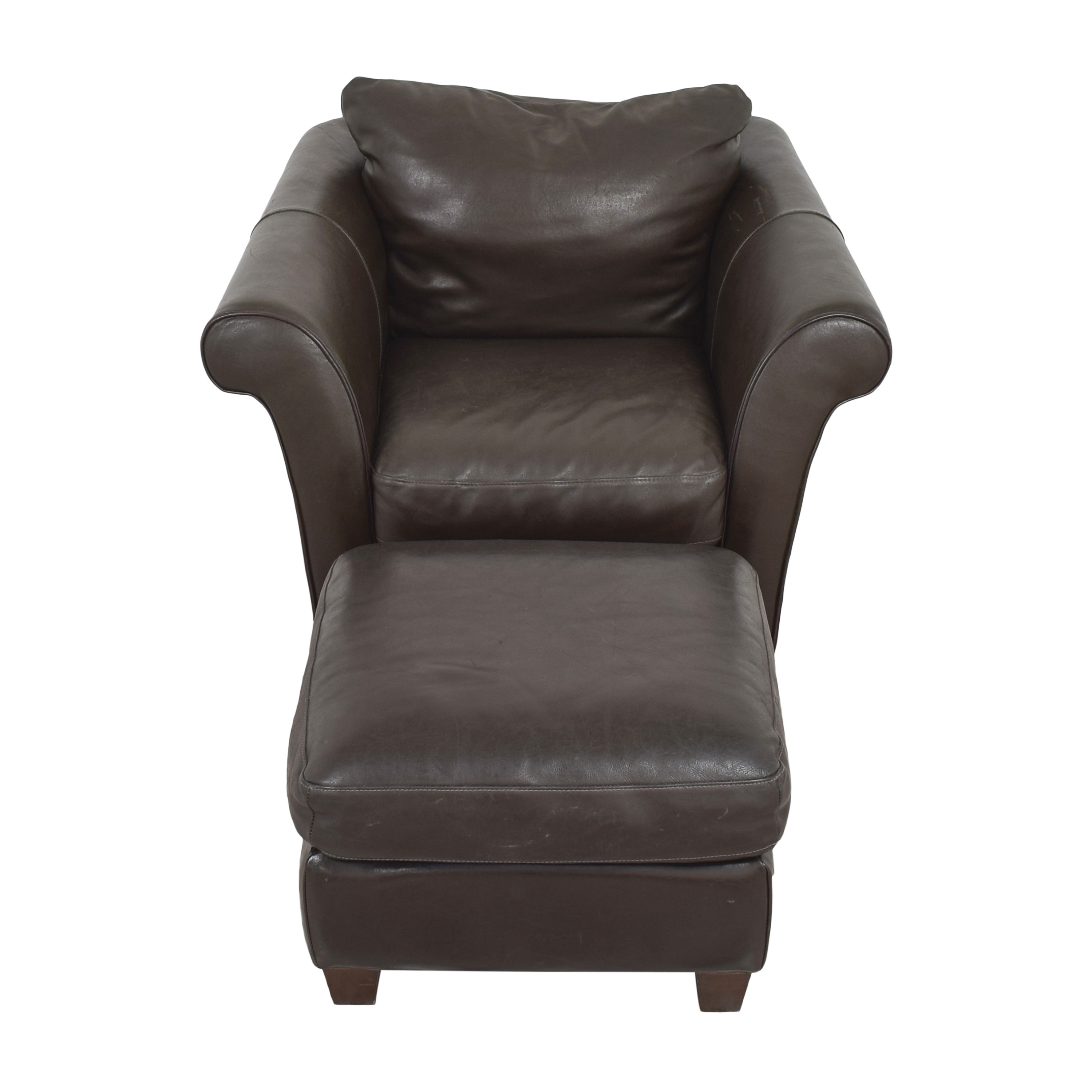 buy Macy's Lounge Chair with Ottoman Macy's Accent Chairs