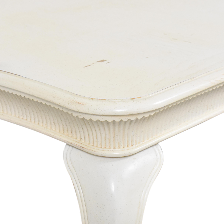 buy Stanley Furniture Stanley Furniture Rectangular Distressed Dining Table online