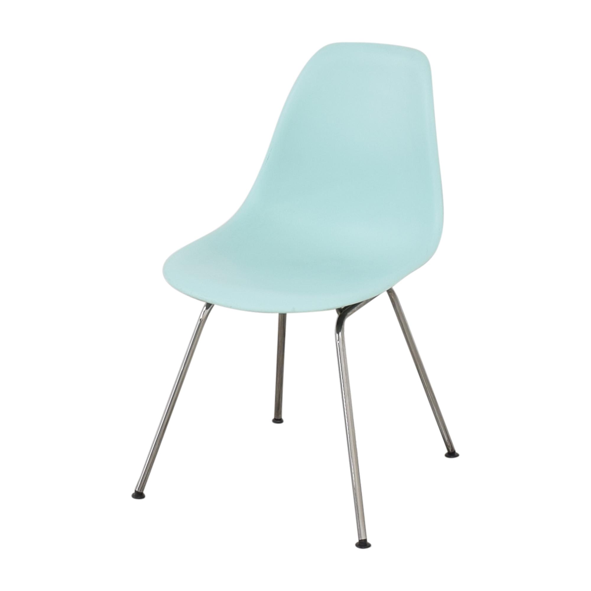 Herman Miller Herman Miller Eames Molded Side Chair, 4-Leg Base price