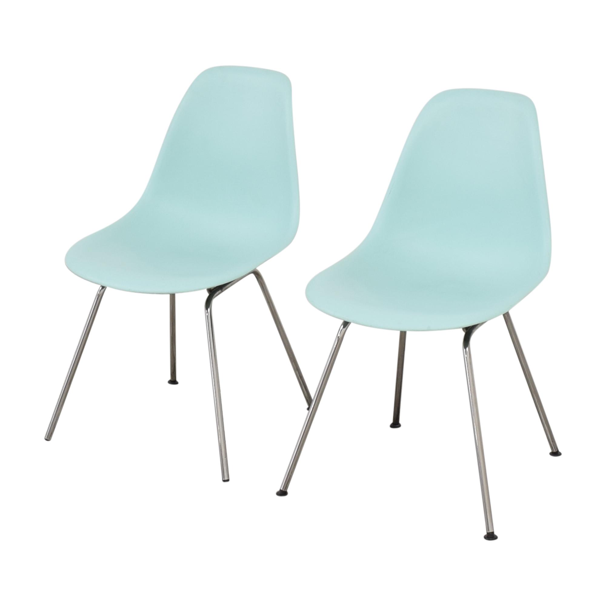 Herman Miller Herman Miller Eames Molded Side Chair, 4-Leg Base for sale