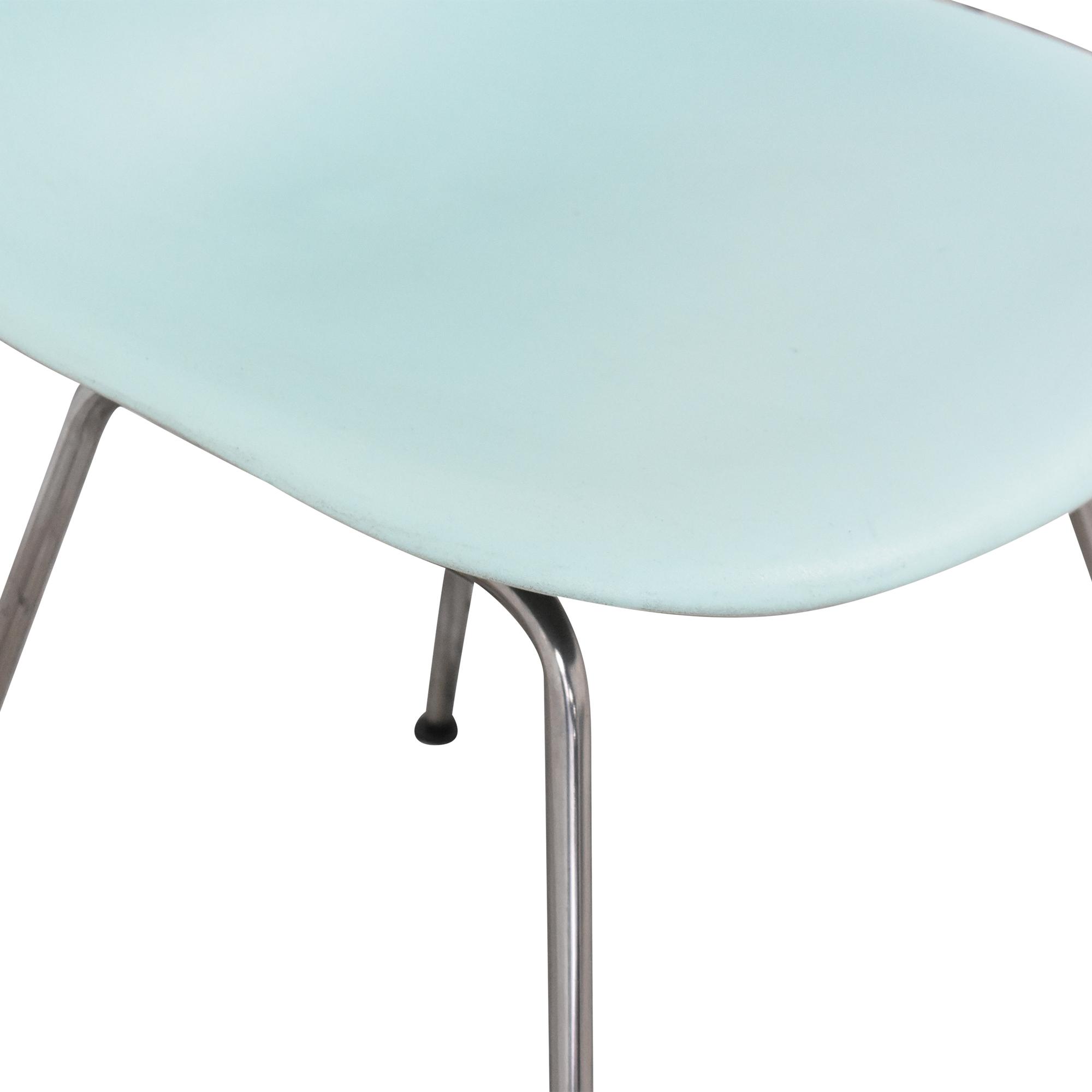 Herman Miller Eames Molded Side Chair, 4-Leg Base Herman Miller