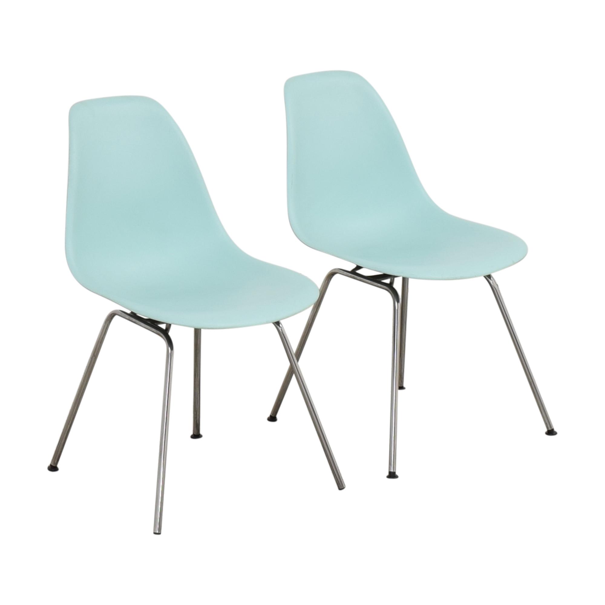Herman Miller Herman Miller Eames Molded Side Chair, 4-Leg Base coupon
