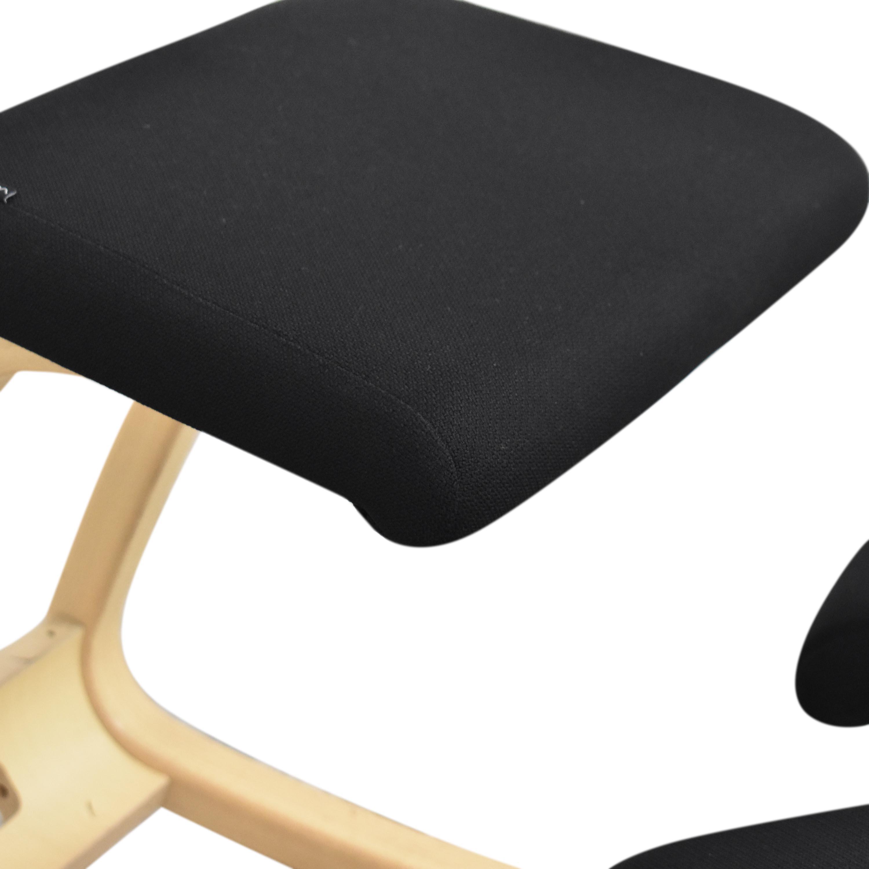 Varier Varier Variable balans Kneeling Chair black and beige