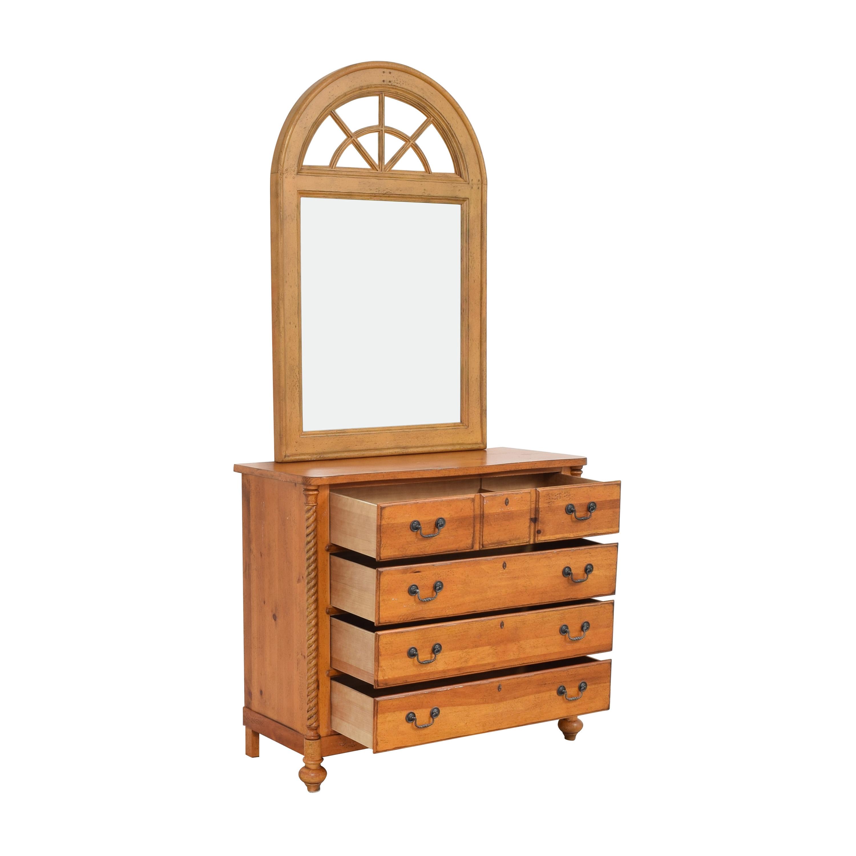 Drexel Heritage Drexel Heritage Pinehurst Dresser with Mirror nyc