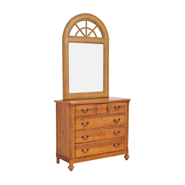 Drexel Heritage Drexel Heritage Pinehurst Dresser with Mirror for sale