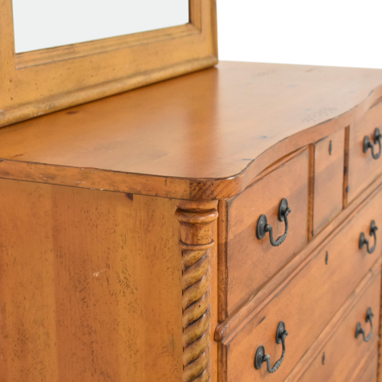 Drexel Heritage Drexel Heritage Pinehurst Dresser with Mirror Dressers