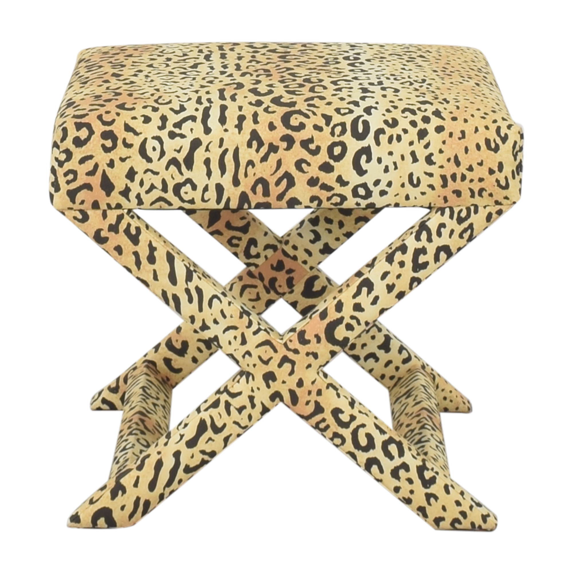 buy The Inside Leopard X Bench The Inside Ottomans