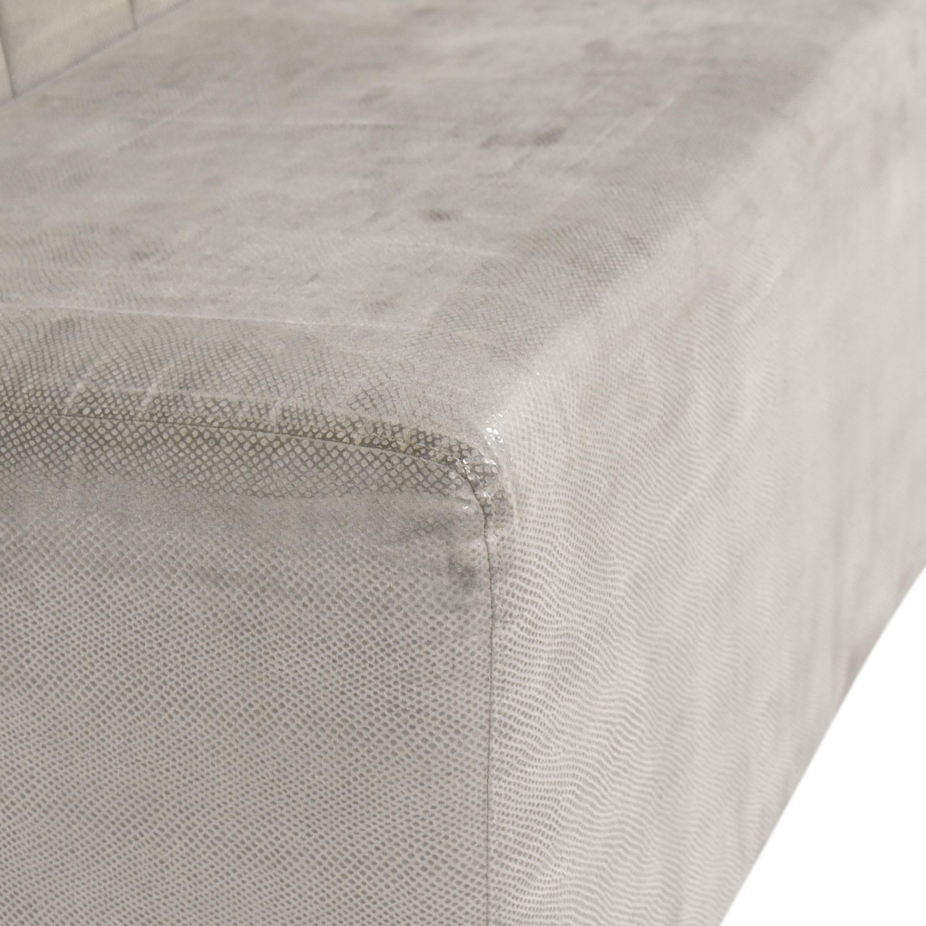 Tufted Banquette Bench second hand