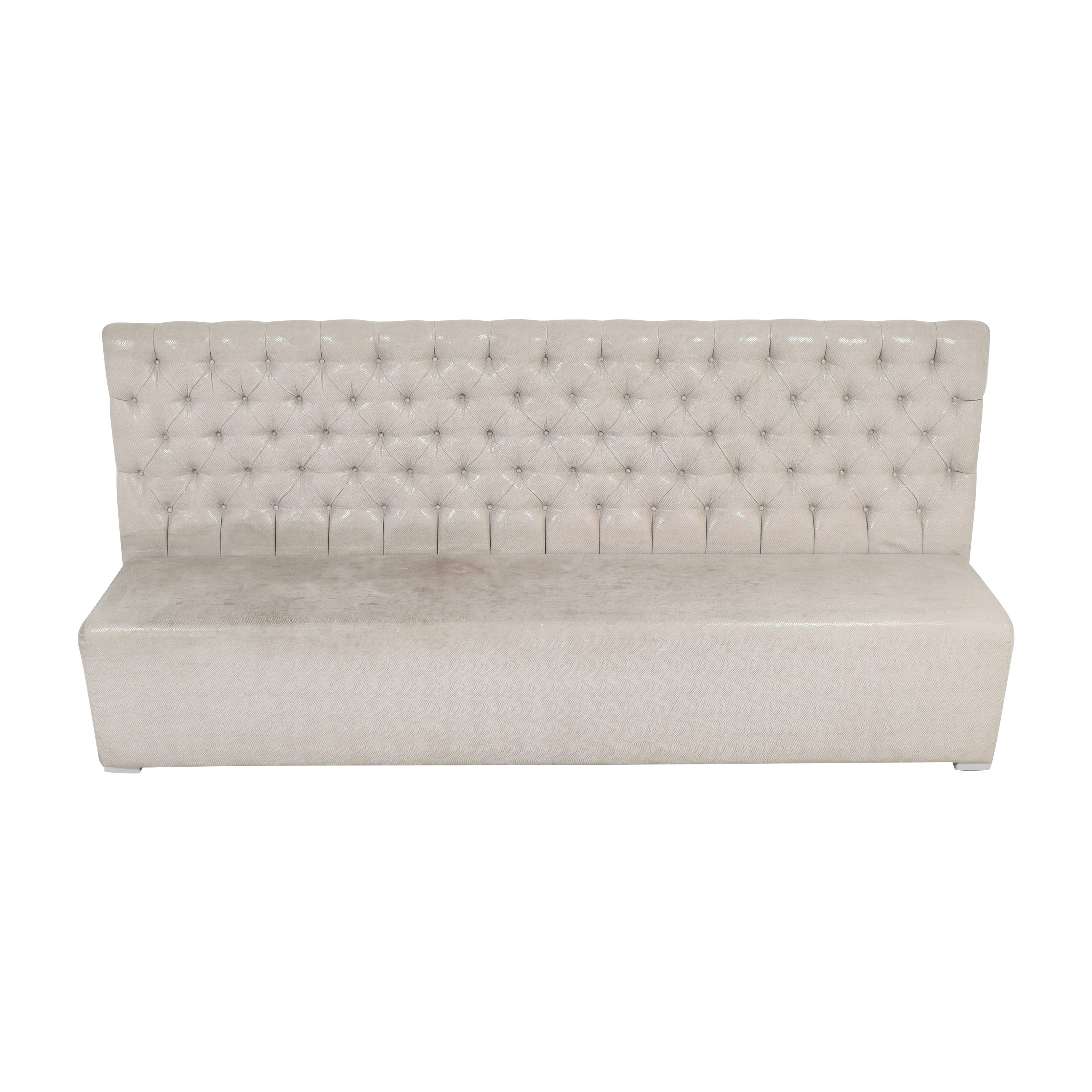 Tufted Banquette Bench nj