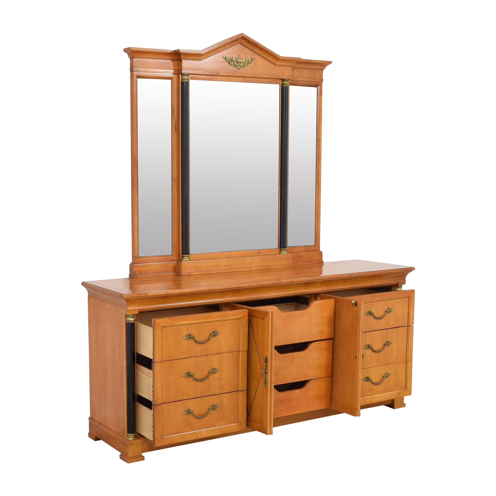 buy Thomasville Thomasville Grand Classics Biedermeier Triple Dresser with Mirror online