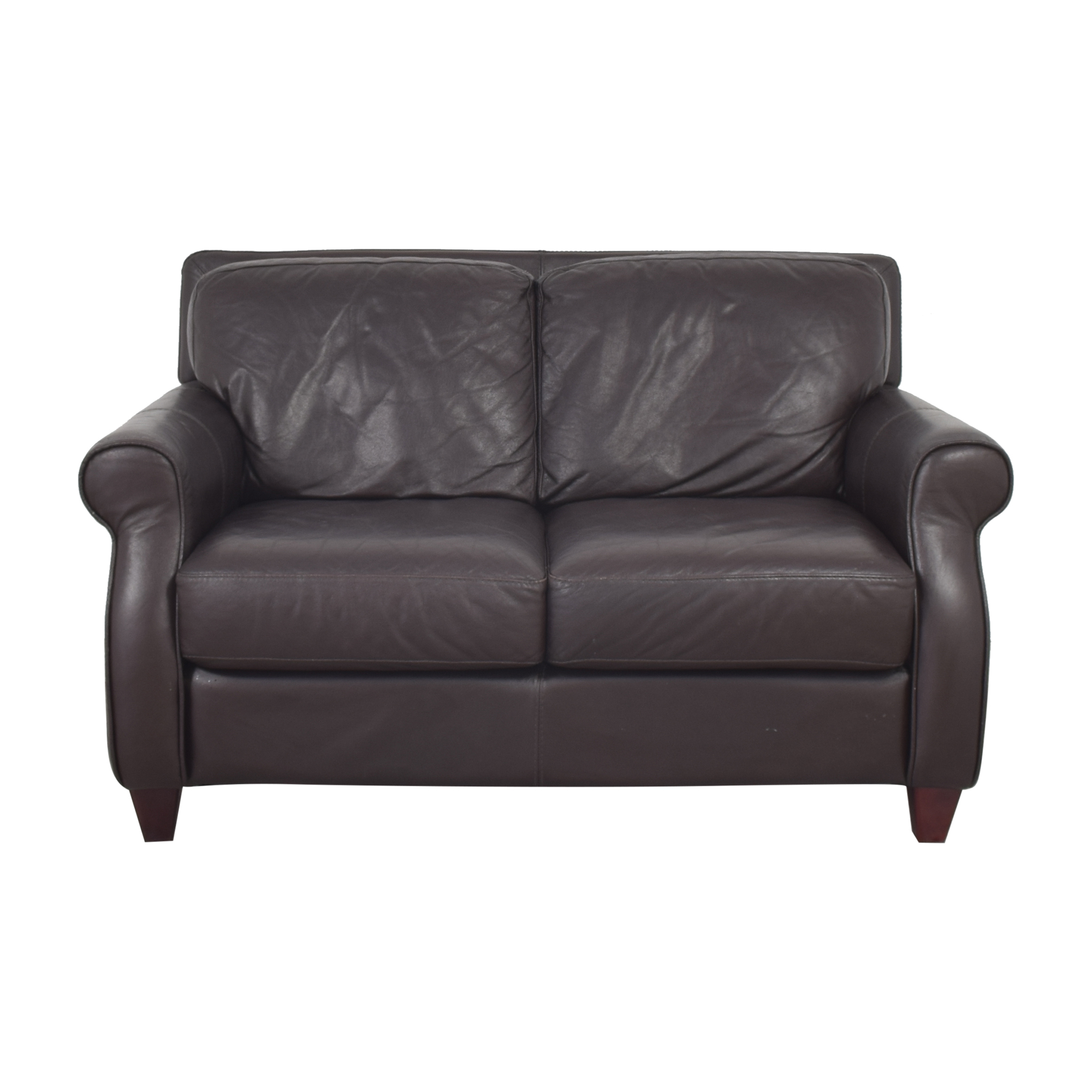 Raymour & Flanigan Raymour & Flanigan Roll Arm Loveseat price