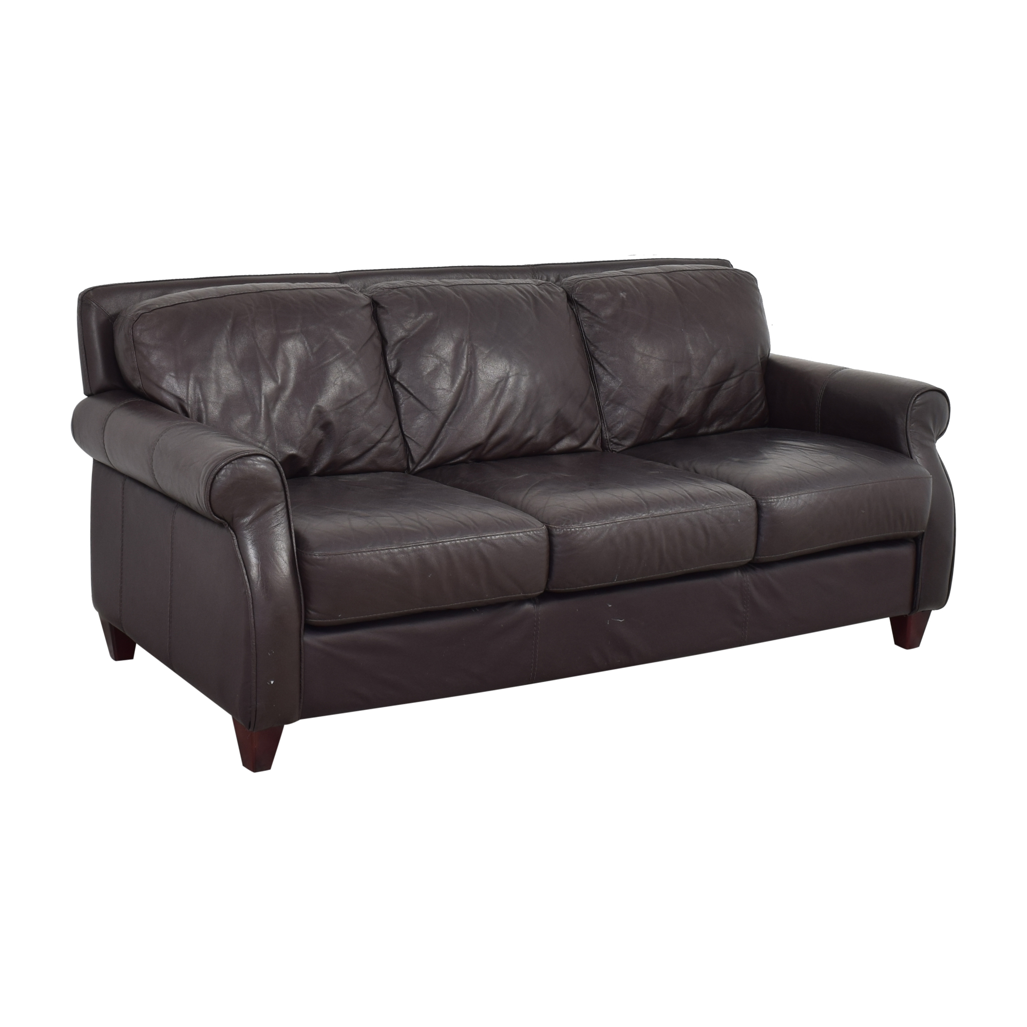 Raymour & Flanigan Raymour & Flanigan Roll Arm Sofa coupon