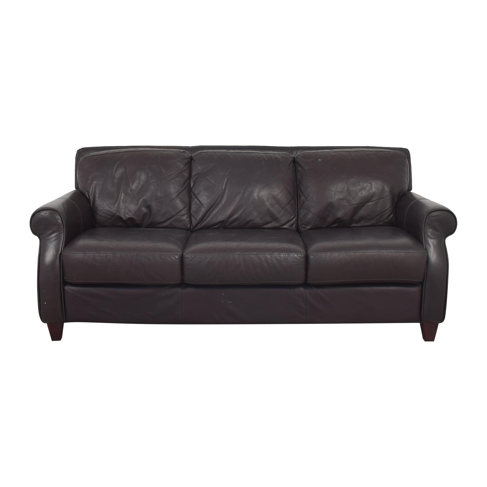 Raymour & Flanigan Raymour & Flanigan Roll Arm Sofa ma