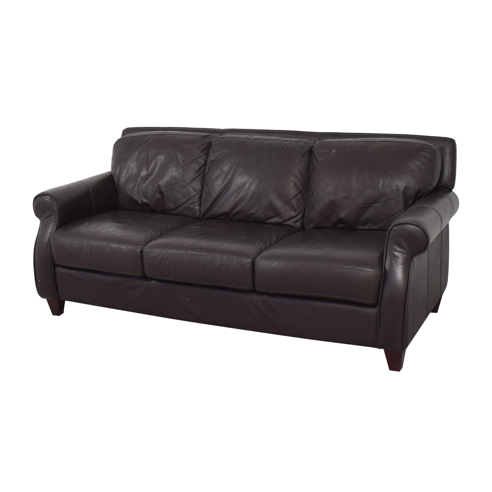 Raymour & Flanigan Raymour & Flanigan Roll Arm Sofa nj