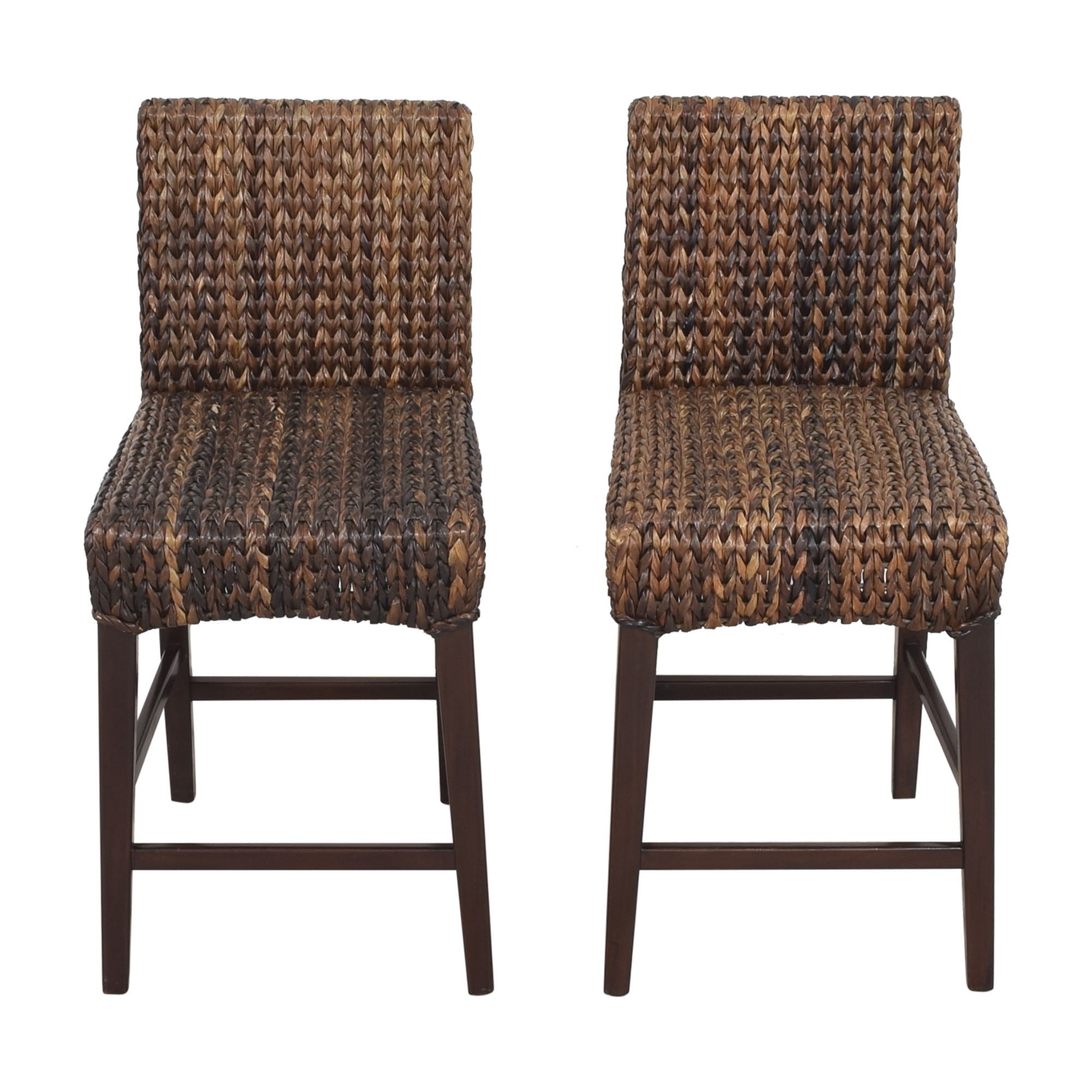 shop Pottery Barn Pottery Barn Seagrass Counter Stools online