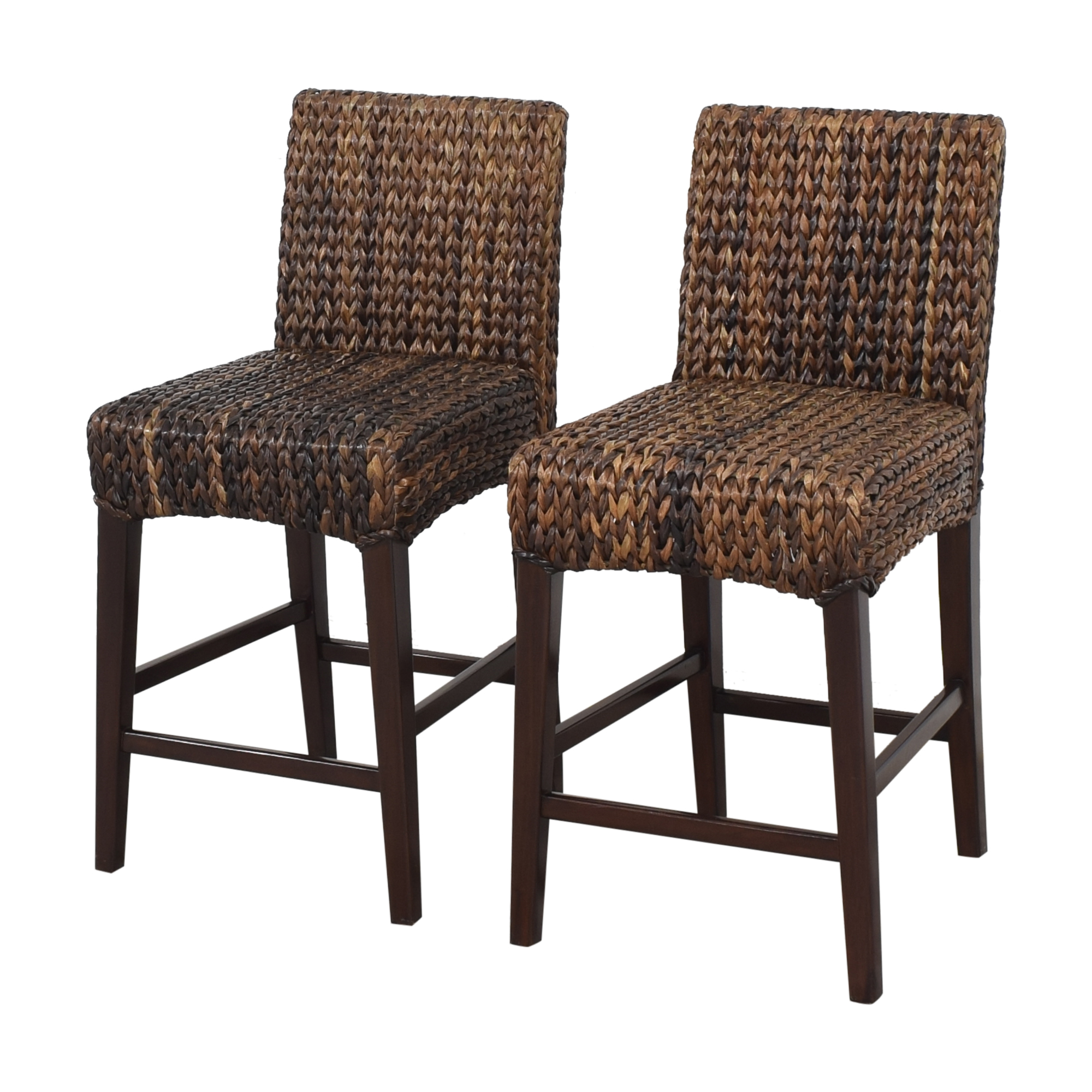 buy Pottery Barn Seagrass Counter Stools Pottery Barn Chairs