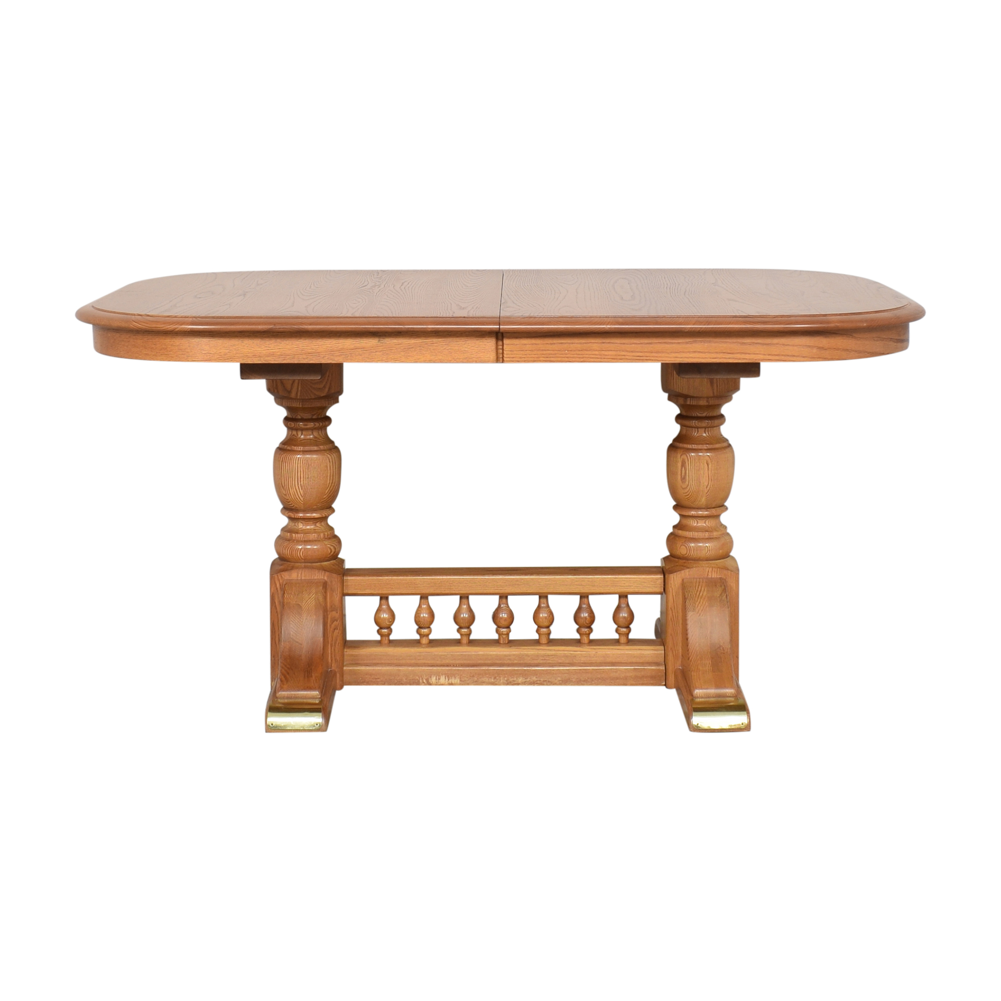 S. Bent & Bros S. Bent & Bros Extendable Dining Table discount