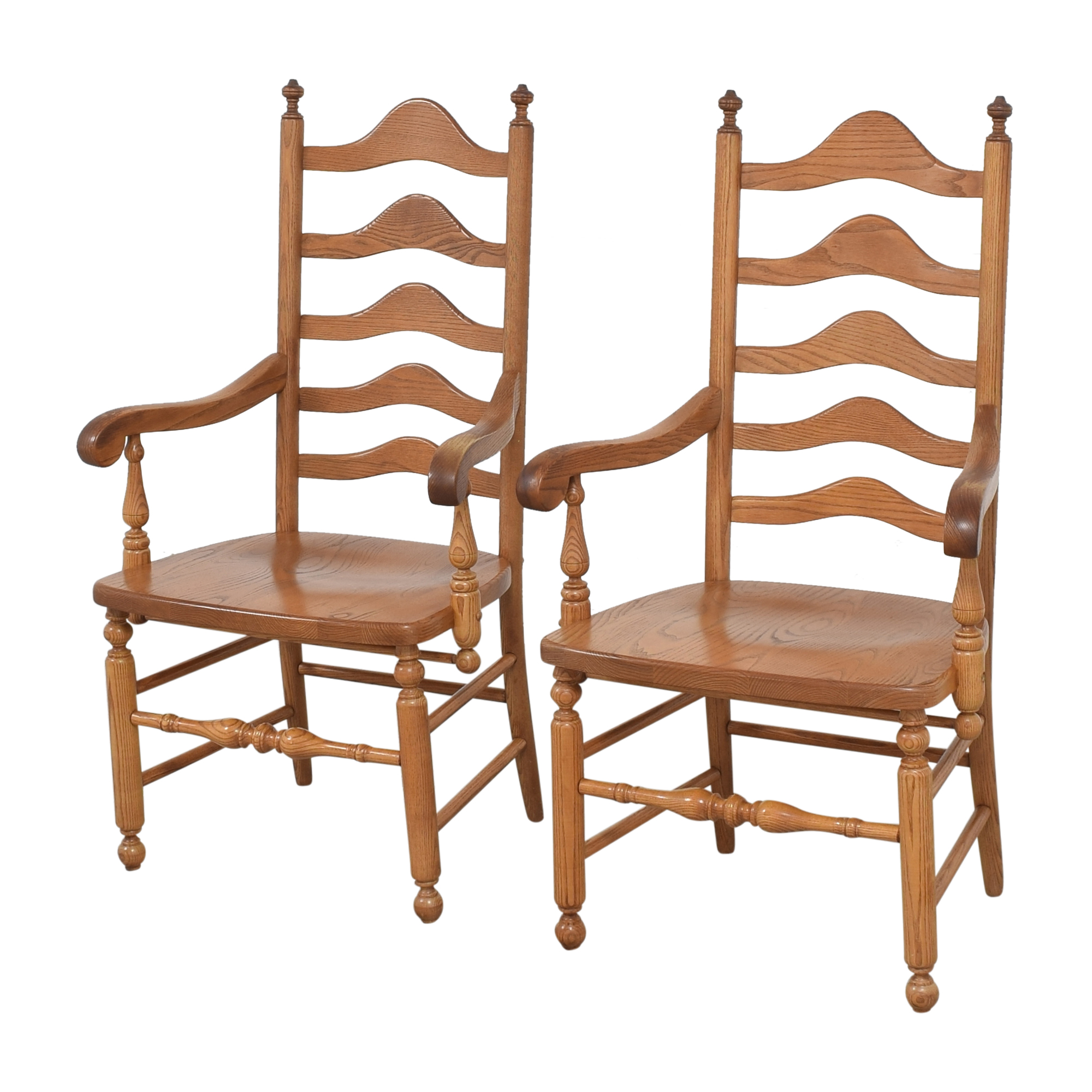 buy S. Bent & Bros Ladder Back Dining Arm Chairs S. Bent & Bros Dining Chairs