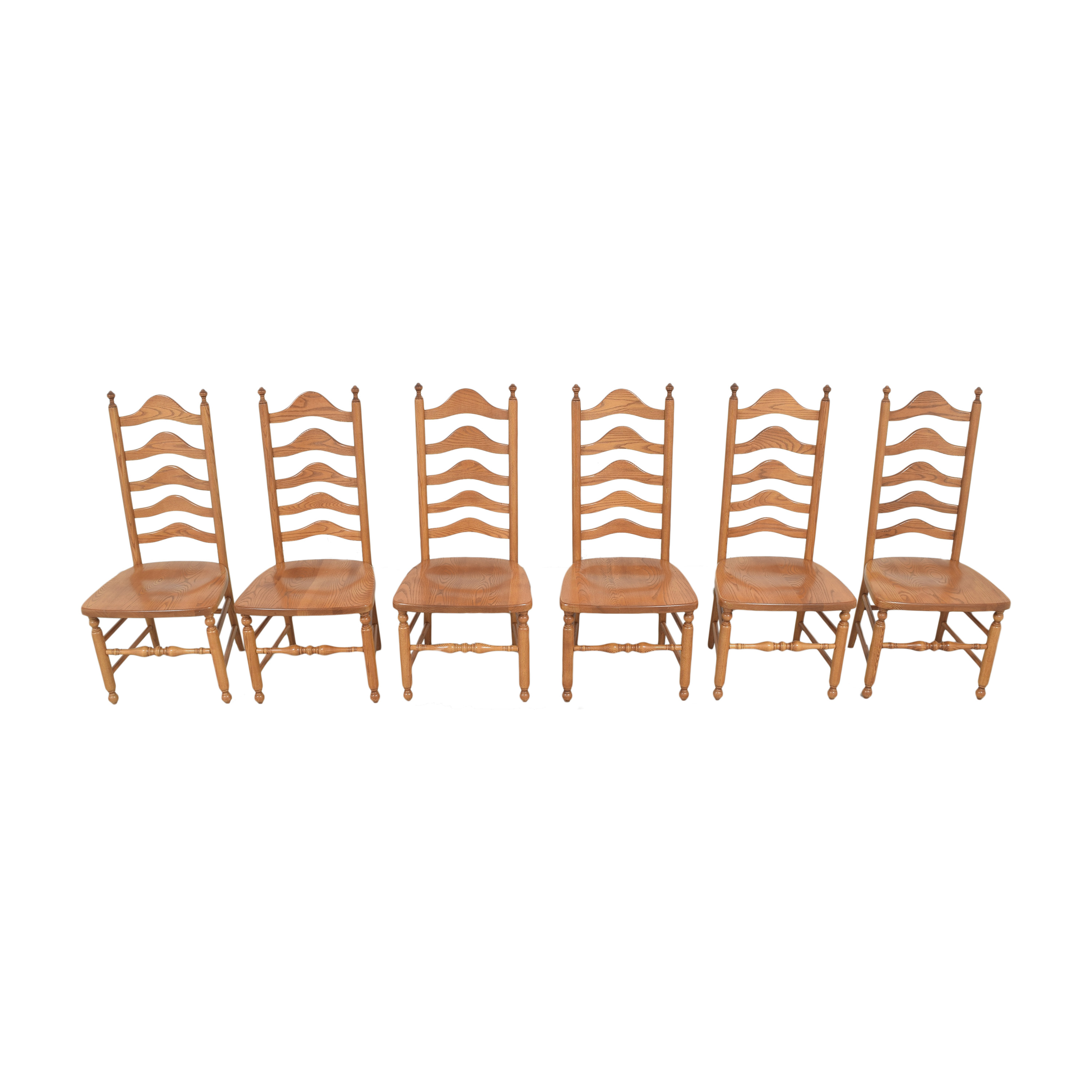 S. Bent & Bros S. Bent & Bros Ladderback Dining Chairs second hand