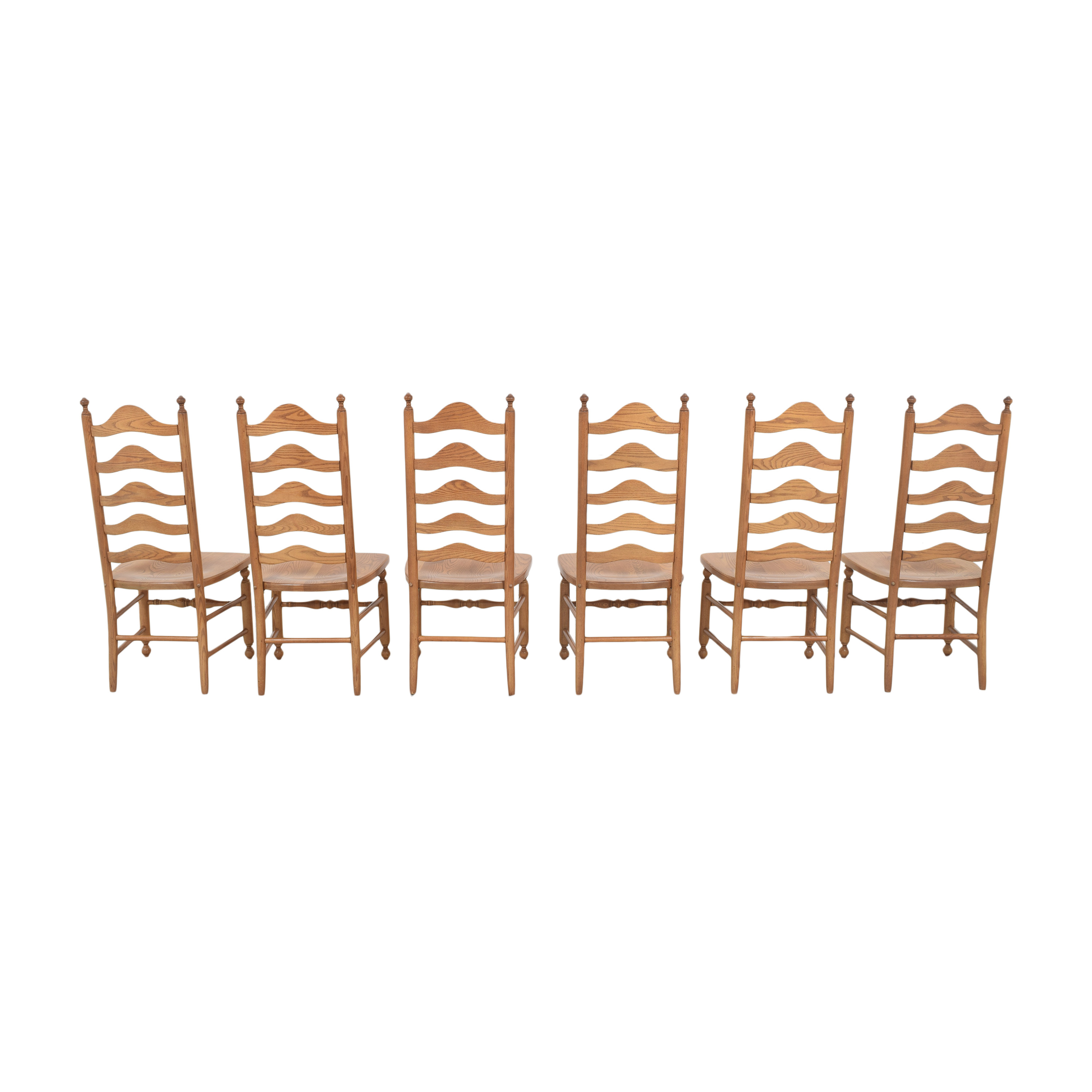 S. Bent & Bros Ladderback Dining Chairs S. Bent & Bros