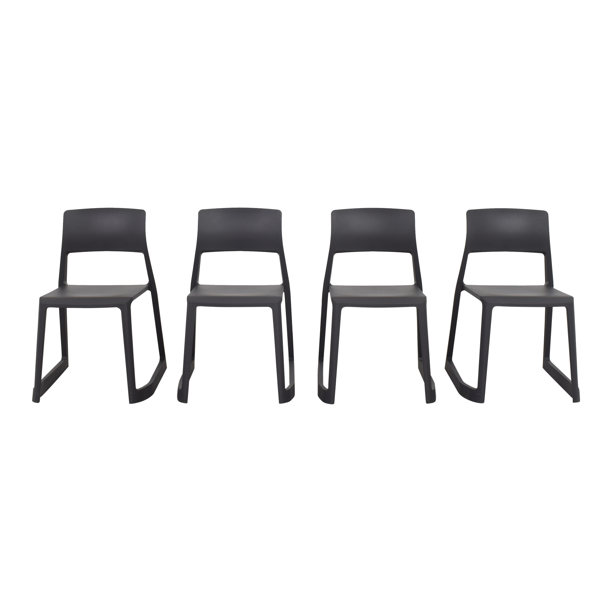 Vitra Vitra Tip Ton Chairs dark grey