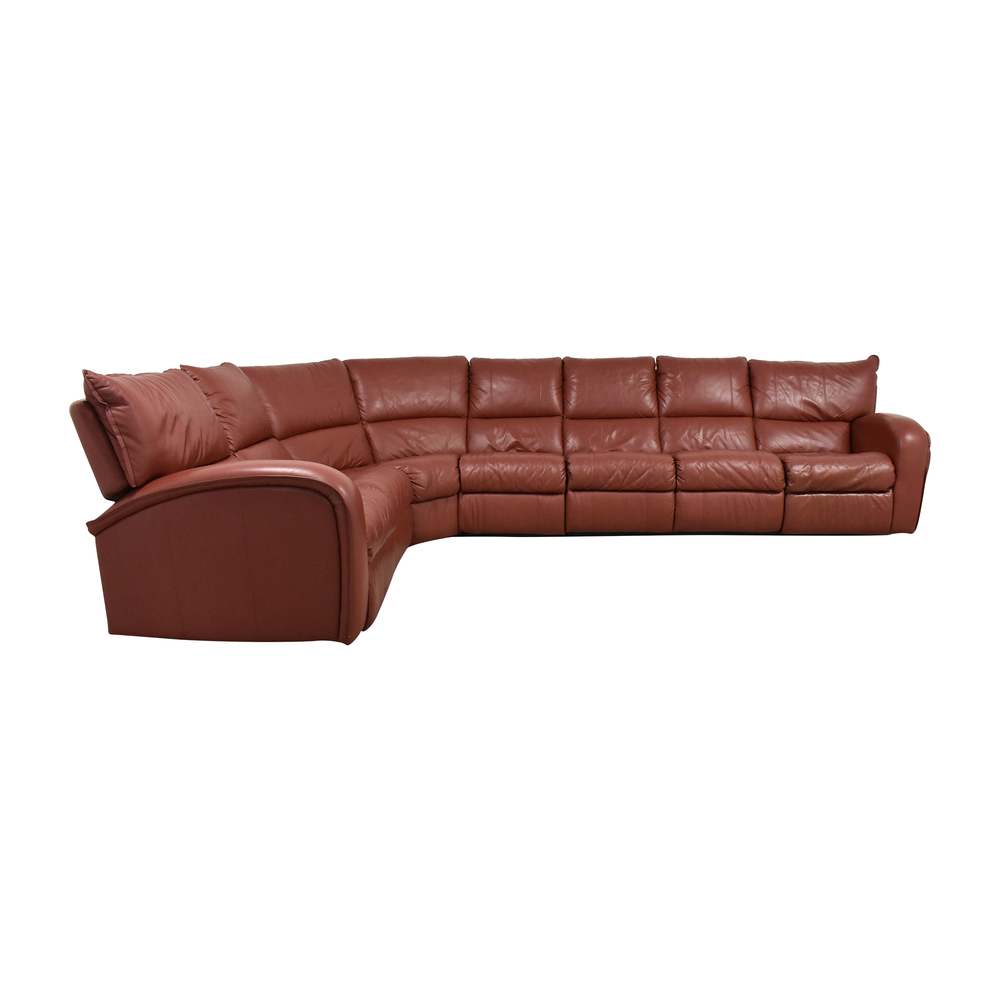 Corner Sectional Sofa with Recliners second hand