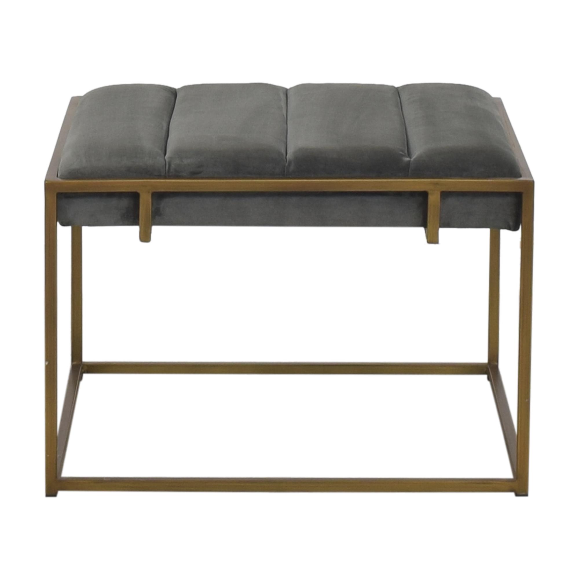 shop West Elm Modern Ottoman West Elm Chairs