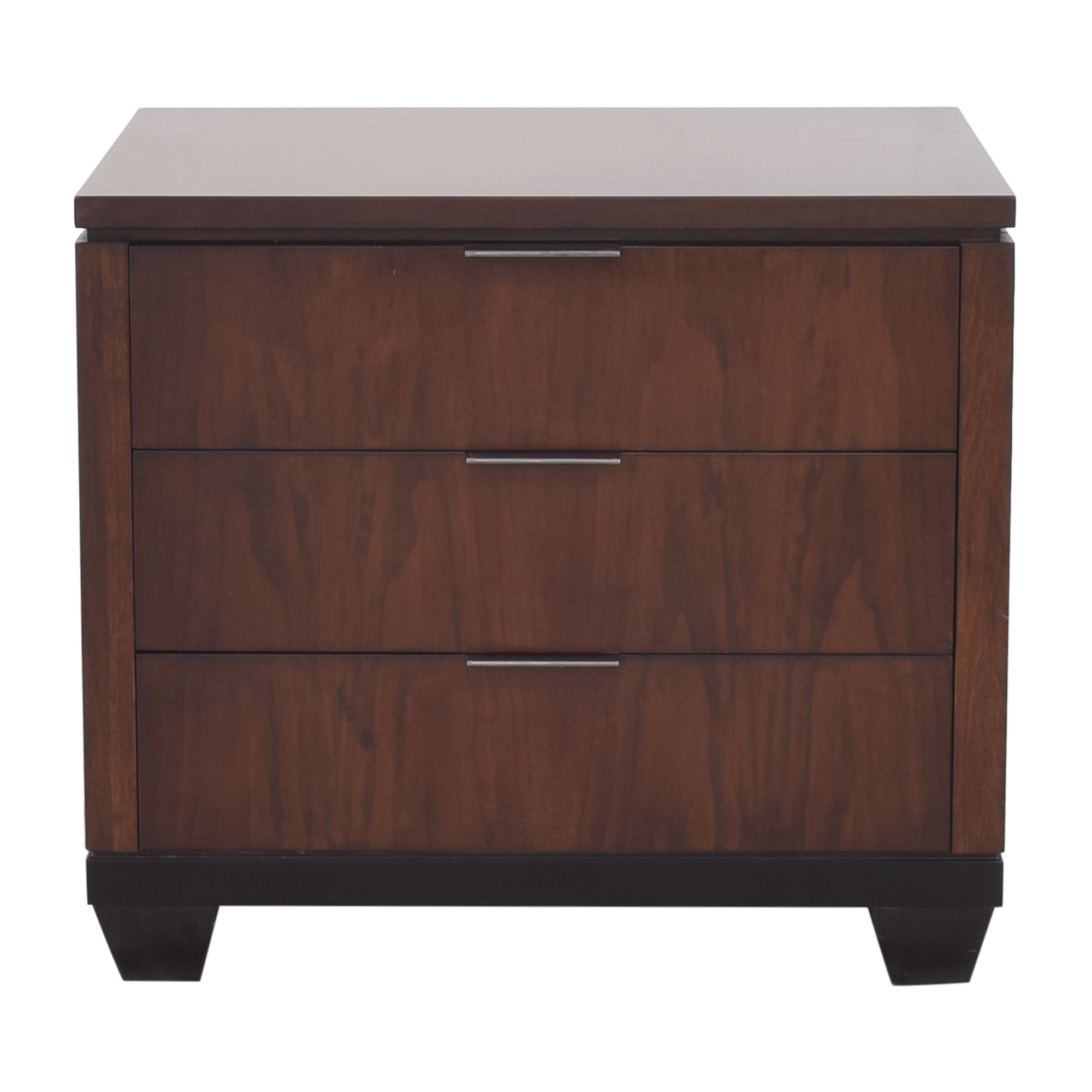 Macy's Macy's Three Drawer Nightstand ma