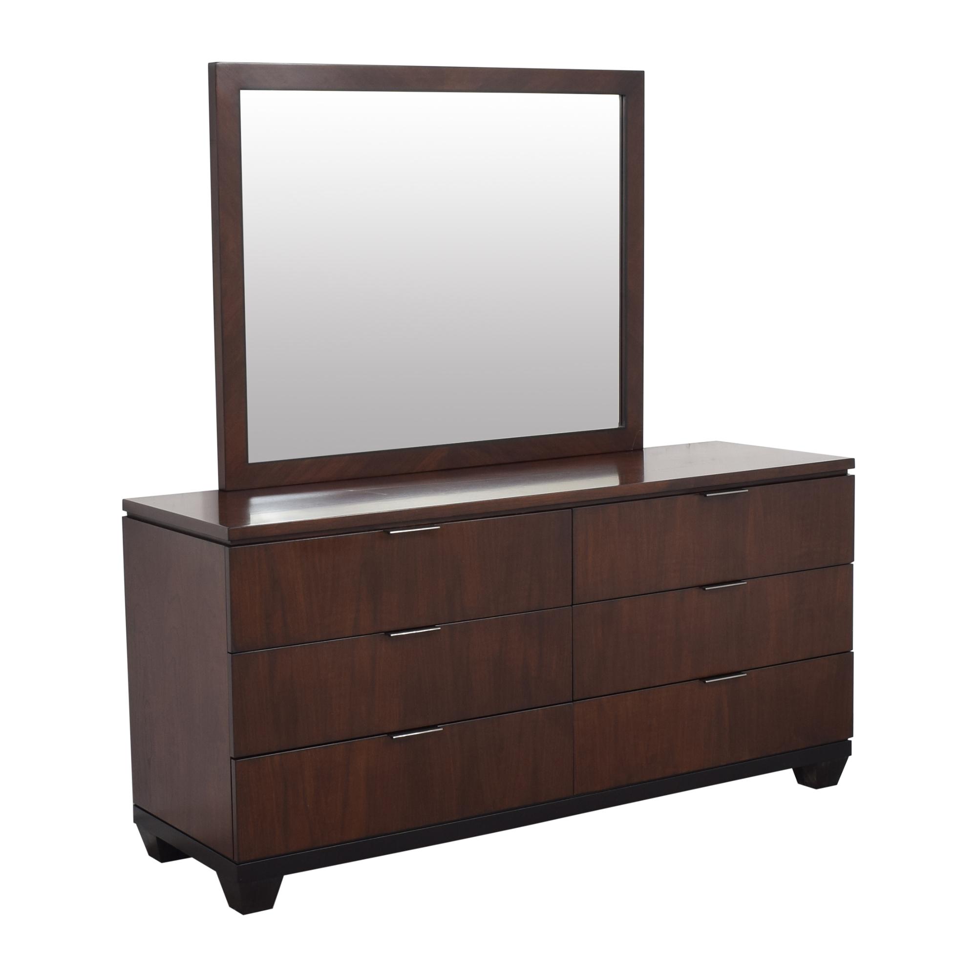 Macy's Double Dresser and Mirror Macy's